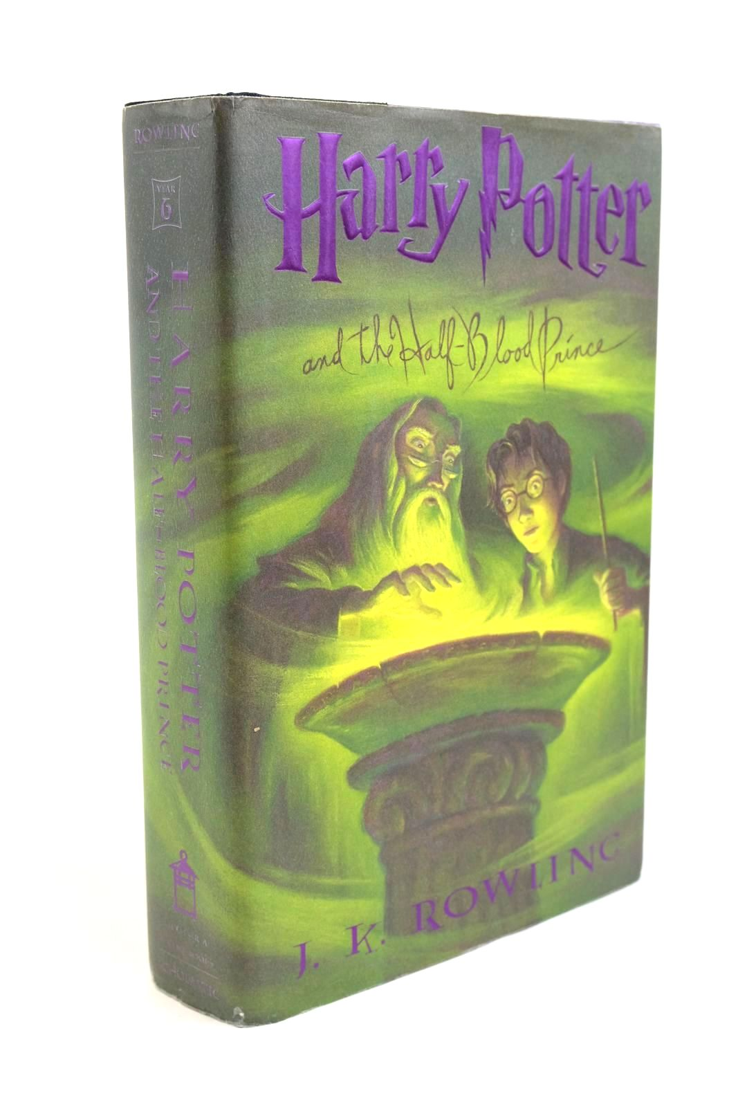 Photo of HARRY POTTER AND THE HALF-BLOOD PRINCE written by Rowling, J.K. illustrated by Grandpre, Mary published by Arthur A. Levine (STOCK CODE: 1321443)  for sale by Stella & Rose's Books