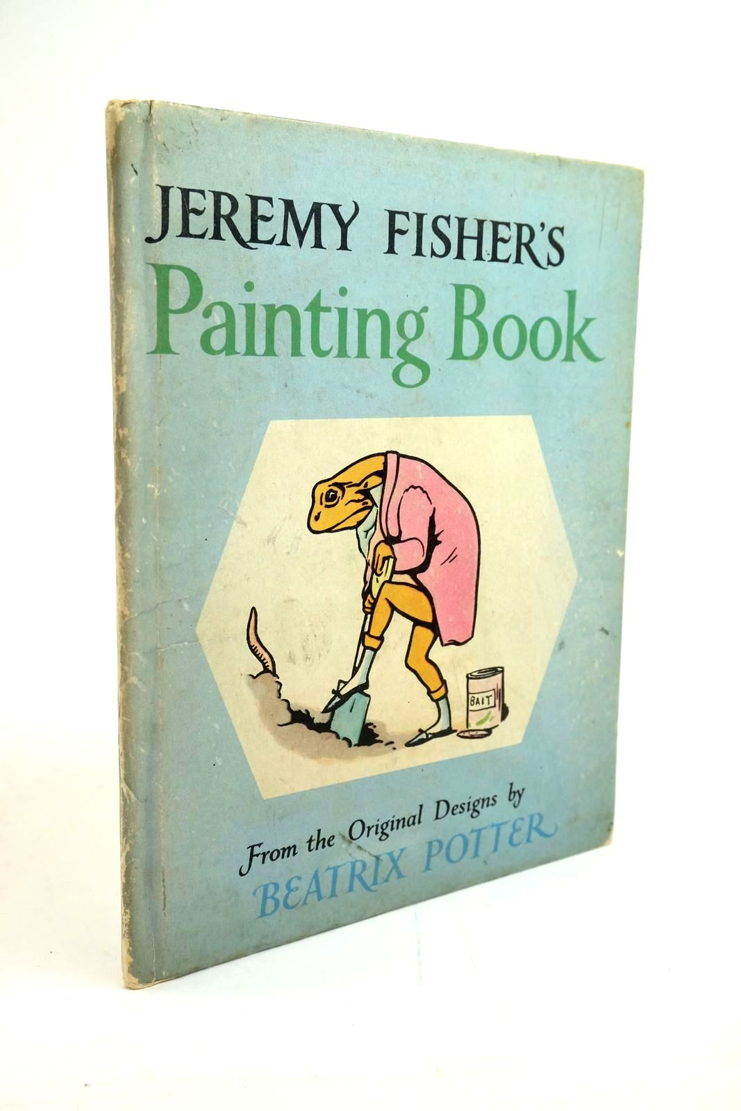 Photo of JEREMY FISHER'S PAINTING BOOK- Stock Number: 1321475