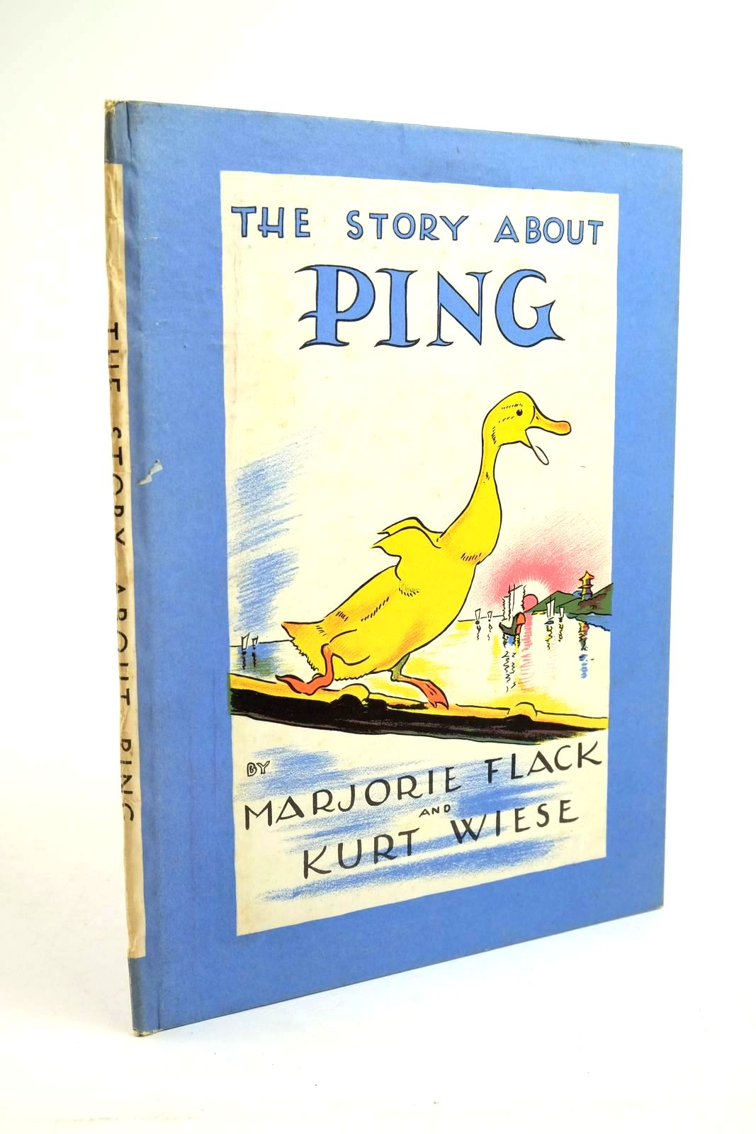 Photo of THE STORY ABOUT PING written by Flack, Marjorie illustrated by Wiese, Kurt published by The Bodley Head (STOCK CODE: 1321539)  for sale by Stella & Rose's Books