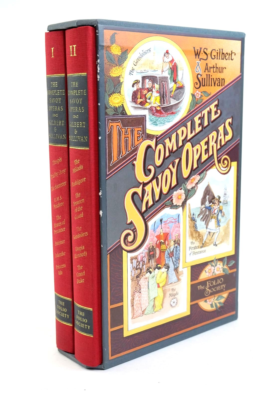 Photo of THE COMPLETE SAVOY OPERAS (TWO VOLUMES)- Stock Number: 1321568