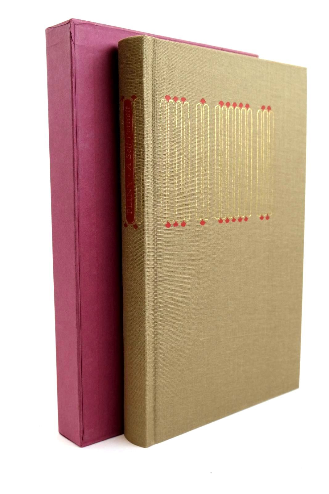 Photo of PLINY A SELF PORTRAIT IN LETTERS written by Pliny,  Radice, Betty published by Folio Society (STOCK CODE: 1321576)  for sale by Stella & Rose's Books