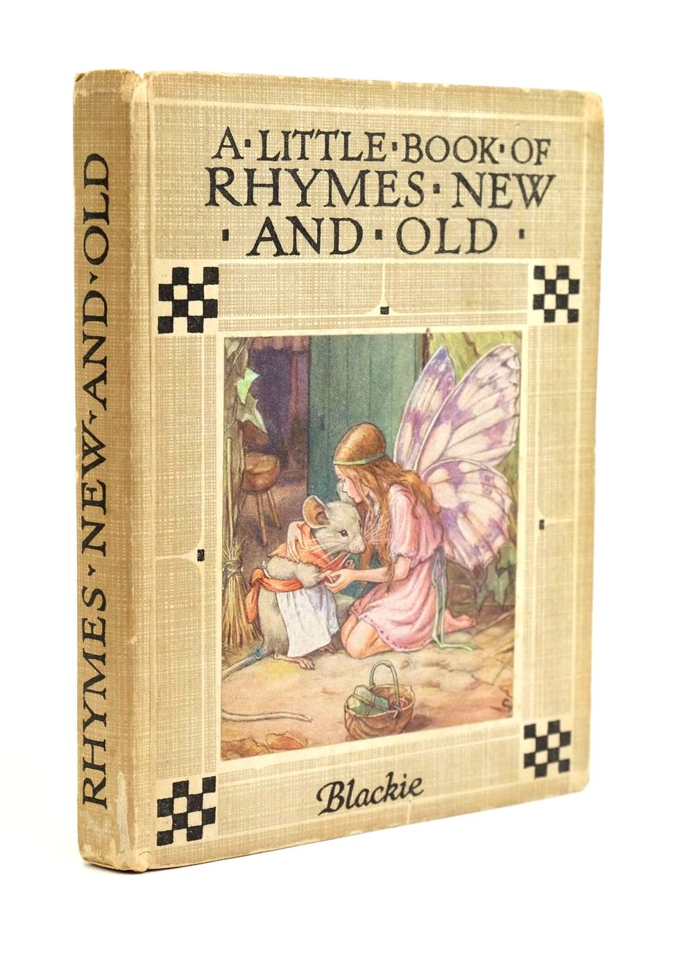 Photo of A LITTLE BOOK OF RHYMES NEW AND OLD written by Barker, Cicely Mary illustrated by Barker, Cicely Mary published by Blackie & Son Ltd. (STOCK CODE: 1321592)  for sale by Stella & Rose's Books