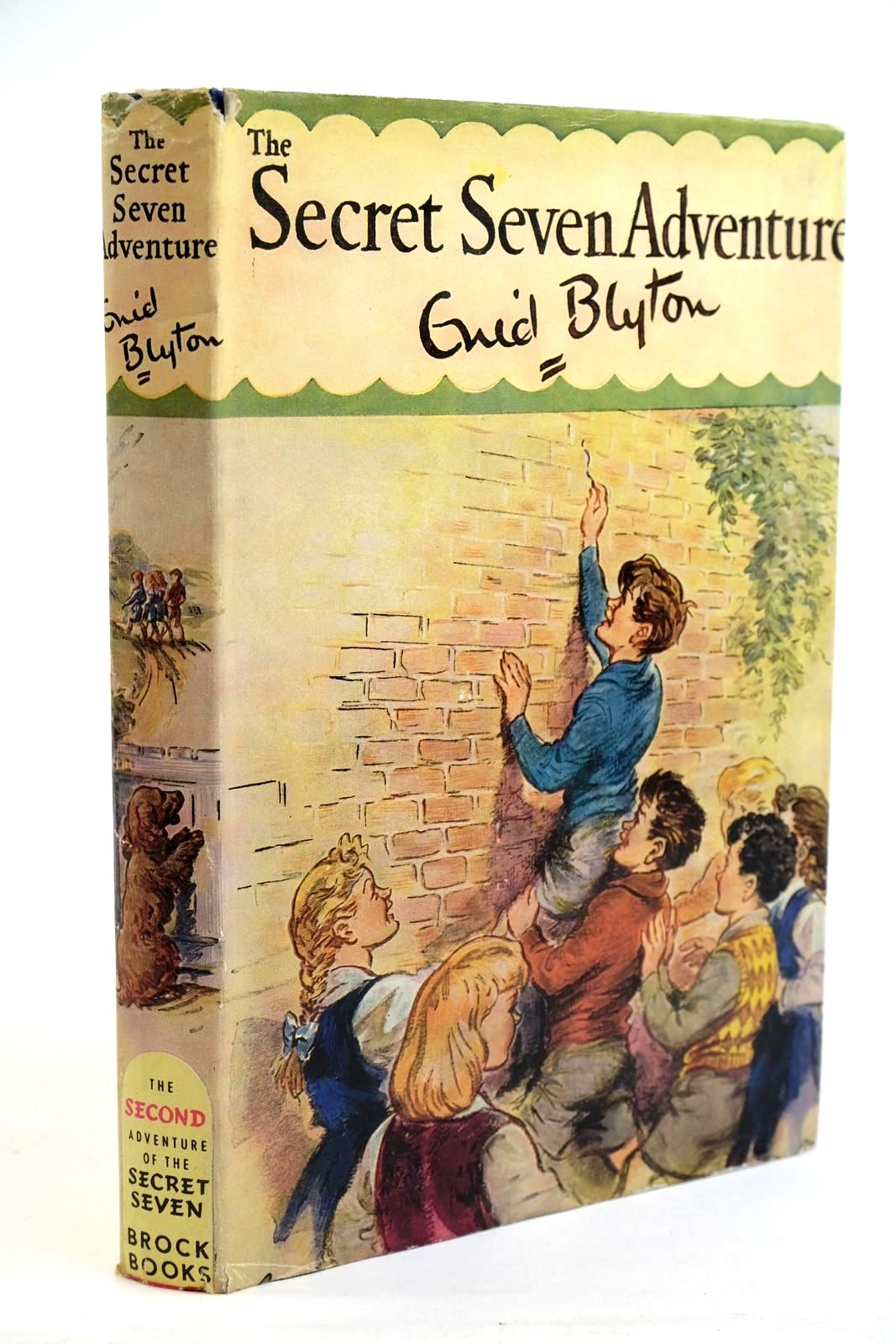 Photo of THE SECRET SEVEN ADVENTURE written by Blyton, Enid illustrated by Brook, George published by Brockhampton Press (STOCK CODE: 1321593)  for sale by Stella & Rose's Books