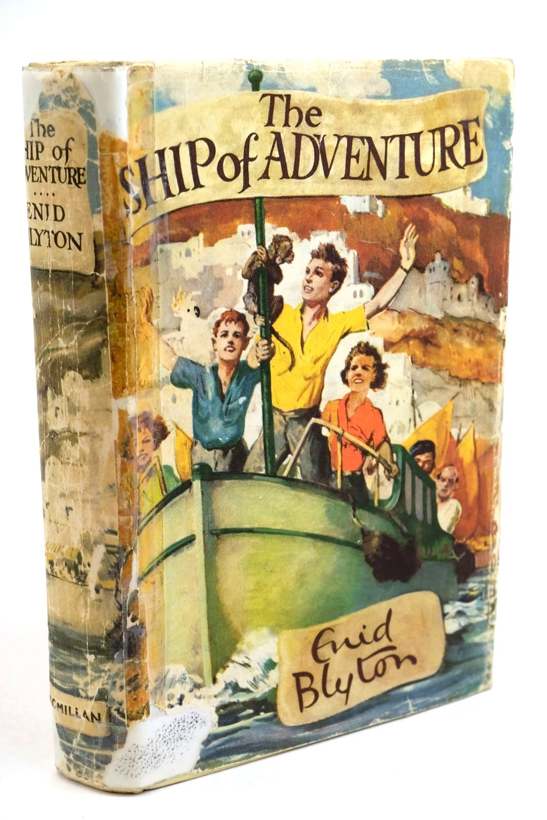 Photo of THE SHIP OF ADVENTURE written by Blyton, Enid illustrated by Tresilian, Stuart published by Macmillan & Co. Ltd. (STOCK CODE: 1321597)  for sale by Stella & Rose's Books