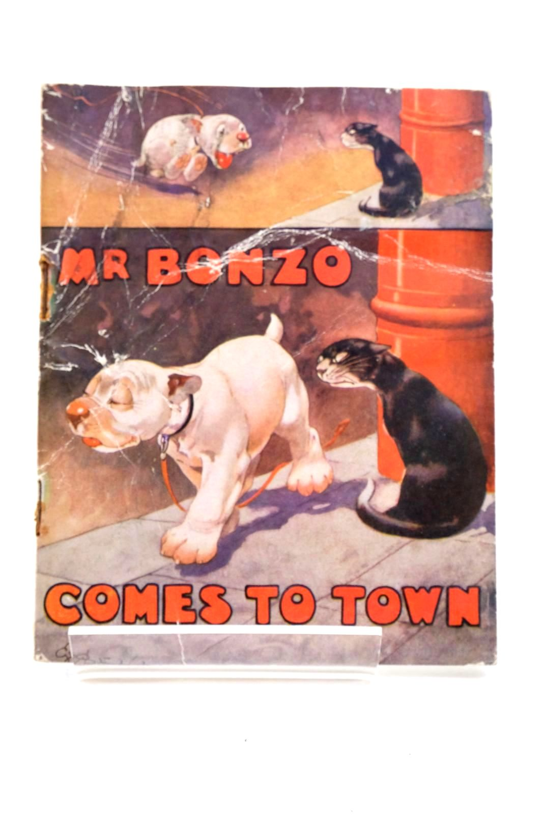 Photo of MR. BONZO COMES TO TOWN written by Studdy, G.E. Jellicoe, George illustrated by Studdy, G.E. published by John Swain & Son Limited, E.P. Dutton & Co. (STOCK CODE: 1321603)  for sale by Stella & Rose's Books