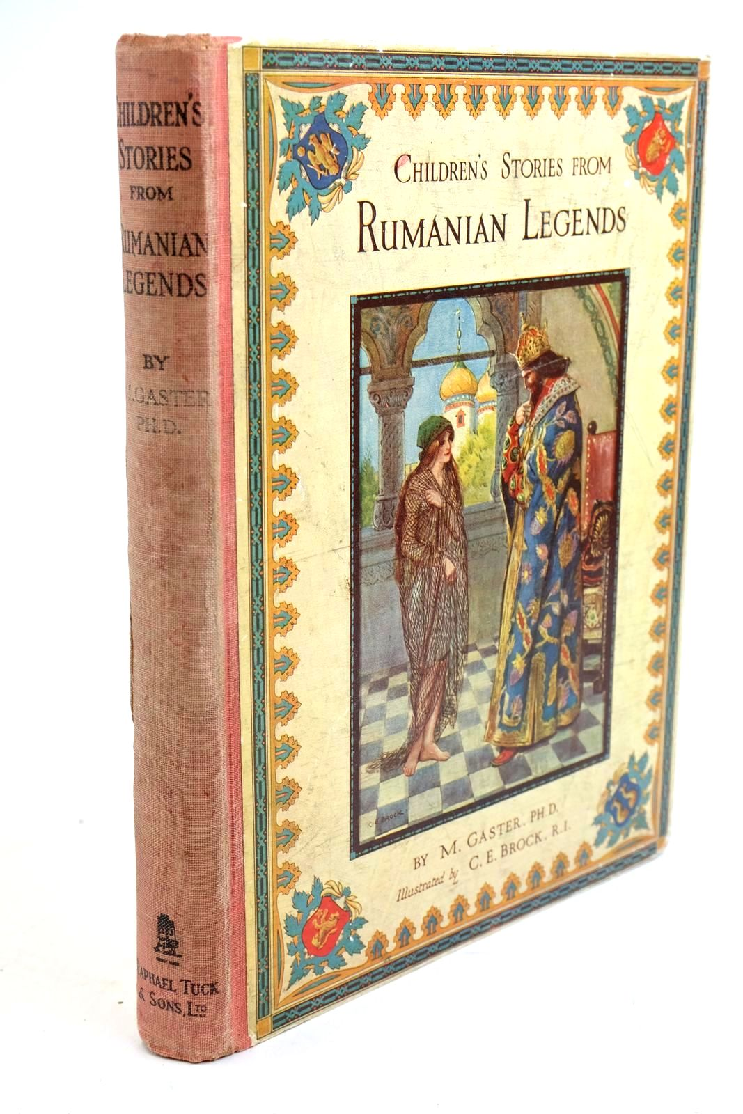 Photo of CHILDREN'S STORIES FROM RUMANIAN LEGENDS AND FAIRY TALES written by Gaster,  illustrated by Brock, C.E. published by Raphael Tuck & Sons Ltd. (STOCK CODE: 1321622)  for sale by Stella & Rose's Books