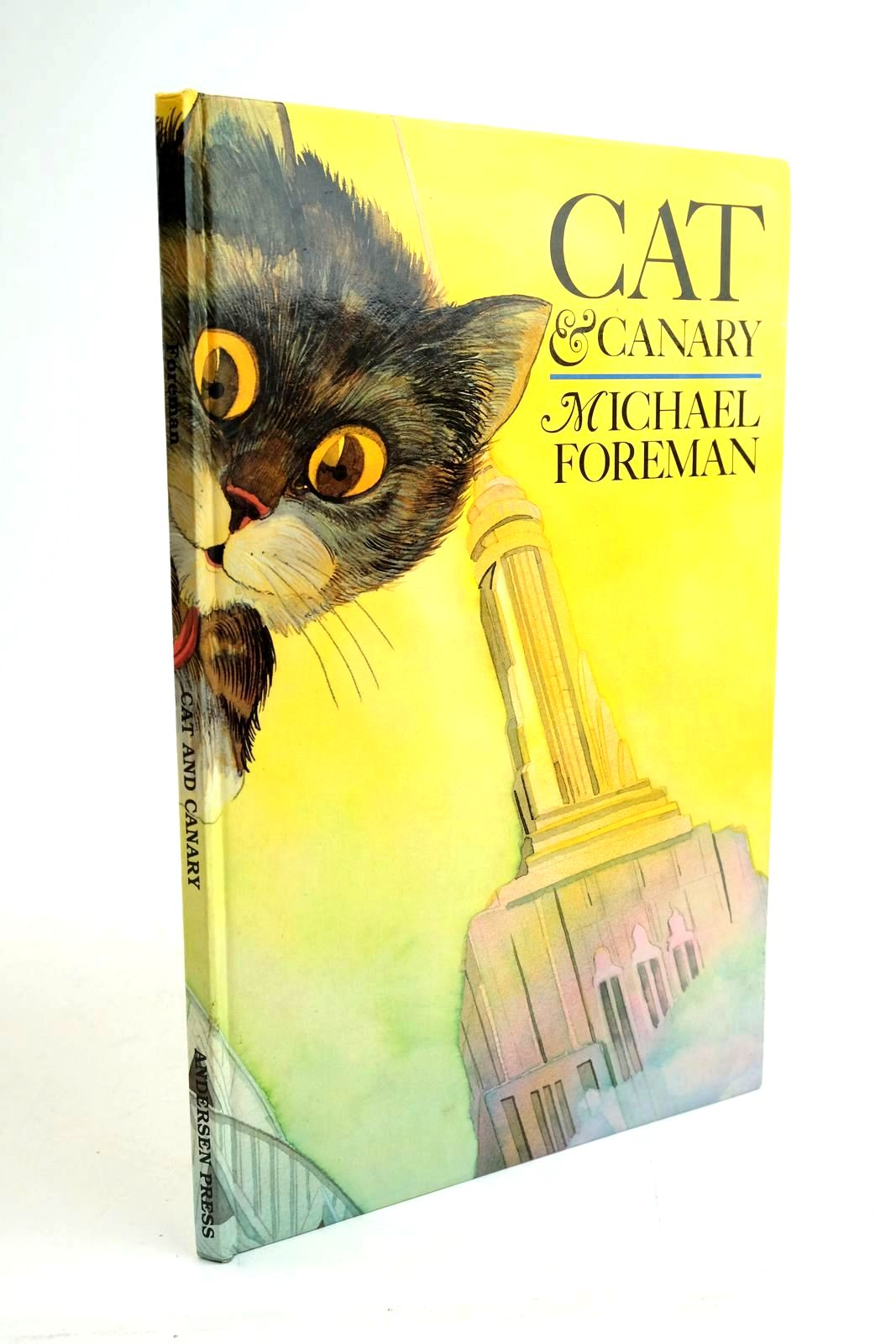 Photo of CAT & CANARY- Stock Number: 1321628