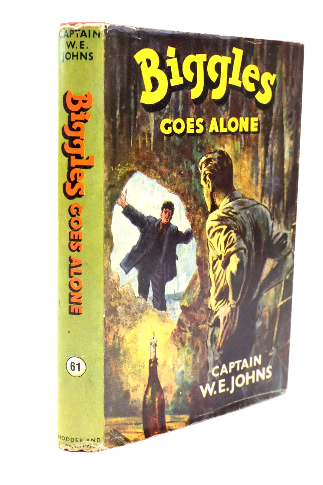 Photo of BIGGLES GOES ALONE written by Johns, W.E. illustrated by Stead,  published by Hodder & Stoughton (STOCK CODE: 1321641)  for sale by Stella & Rose's Books