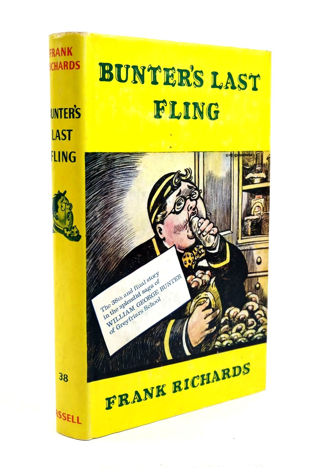 Photo of BUNTER'S LAST FLING written by Richards, Frank illustrated by Chapman, C.H. published by Cassell (STOCK CODE: 1321650)  for sale by Stella & Rose's Books