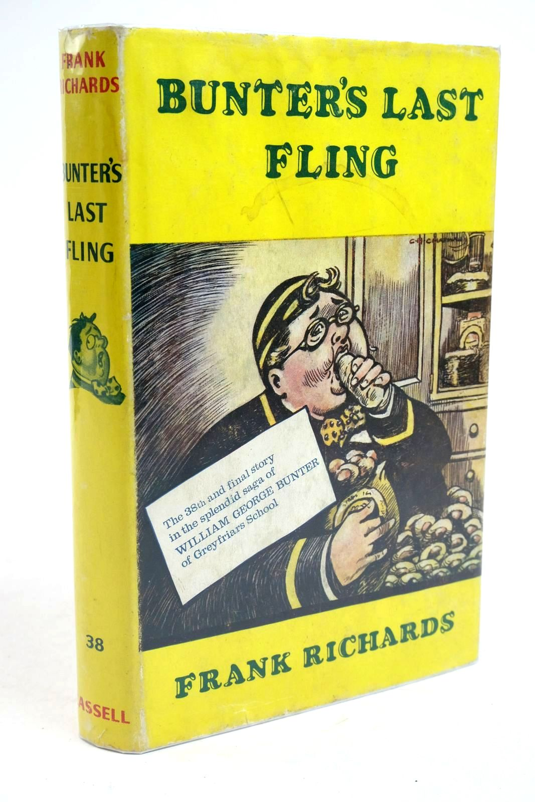 Photo of BUNTER'S LAST FLING written by Richards, Frank illustrated by Chapman, C.H. published by Cassell (STOCK CODE: 1321653)  for sale by Stella & Rose's Books