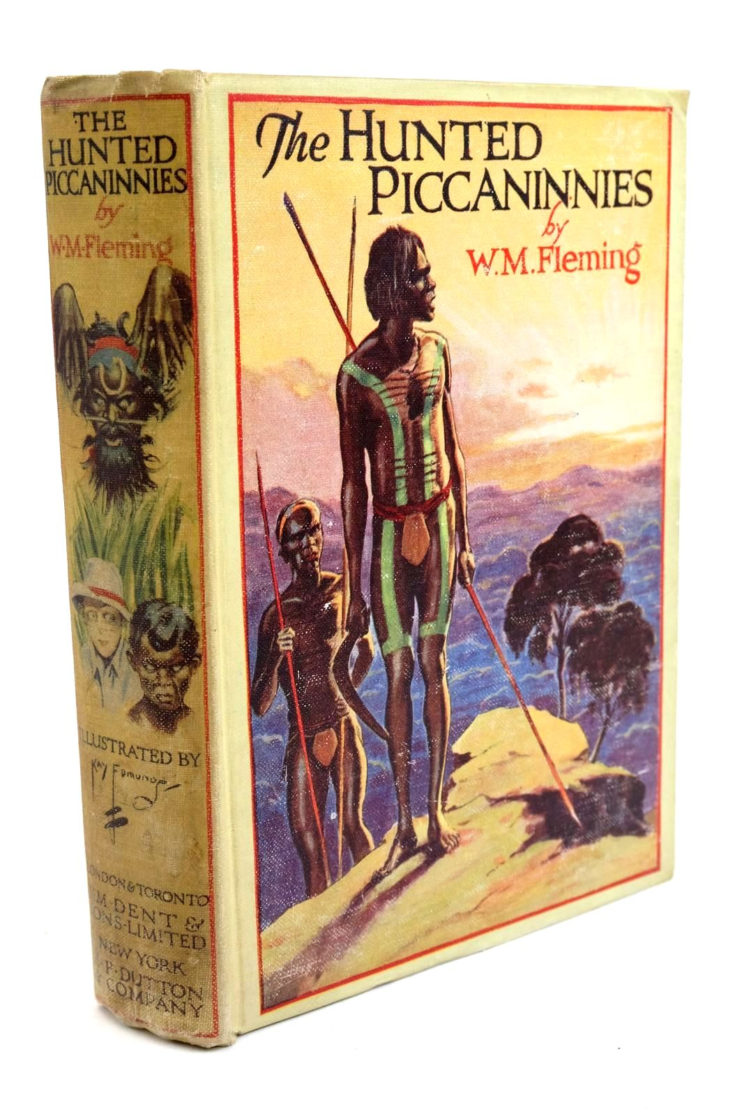 Photo of THE HUNTED PICCANINNIES written by Fleming, W.M. illustrated by Edmunds, Kay published by J.M. Dent & Sons Ltd. (STOCK CODE: 1321656)  for sale by Stella & Rose's Books