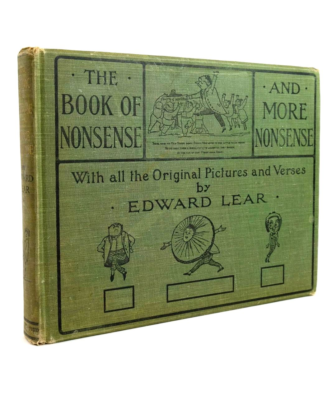 Photo of THE BOOK OF NONSENSE AND MORE NONSENSE- Stock Number: 1321694