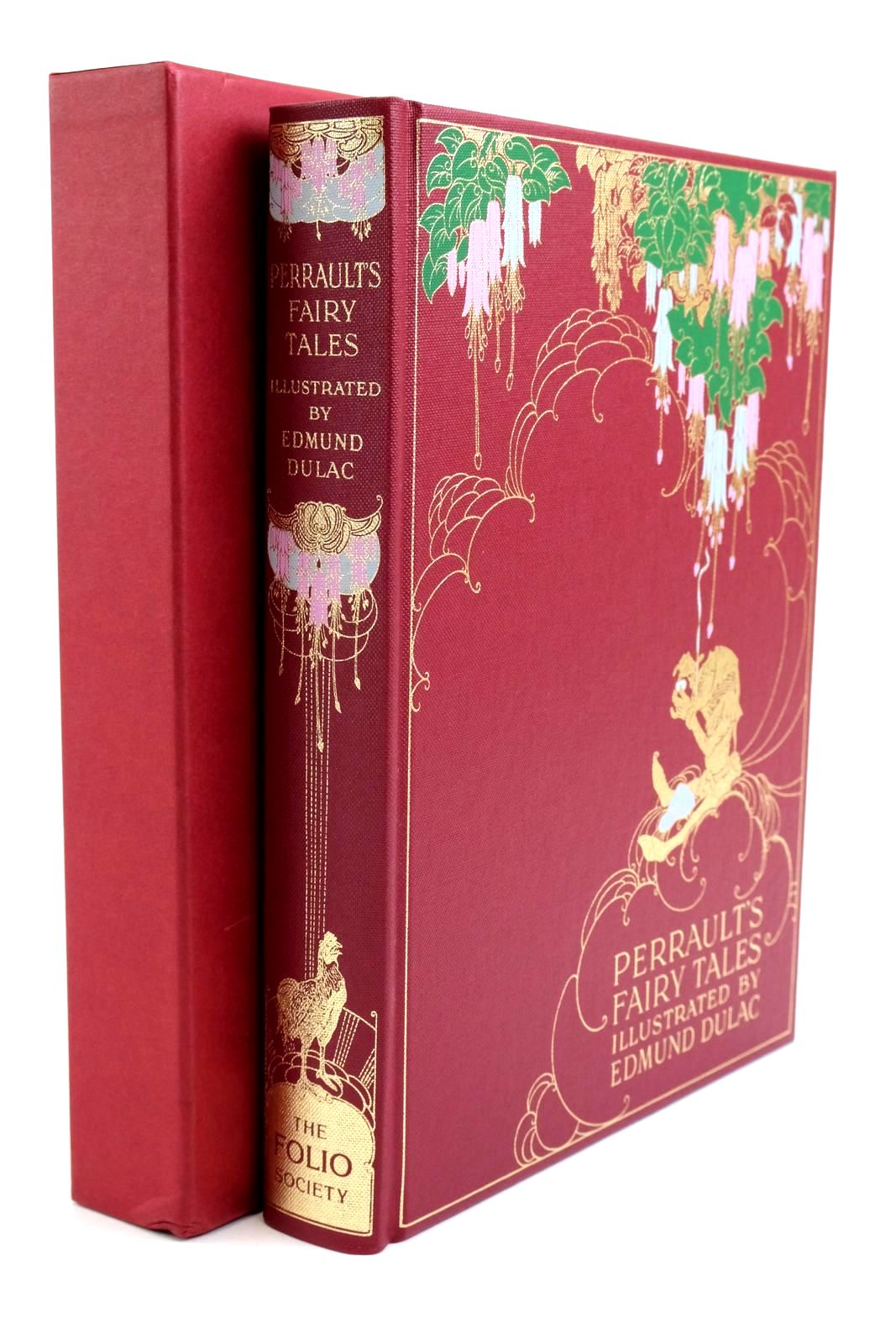 Photo of THE FAIRY TALES OF CHARLES PERRAULT written by Perrault, Charles illustrated by Dulac, Edmund published by Folio Society (STOCK CODE: 1321761)  for sale by Stella & Rose's Books