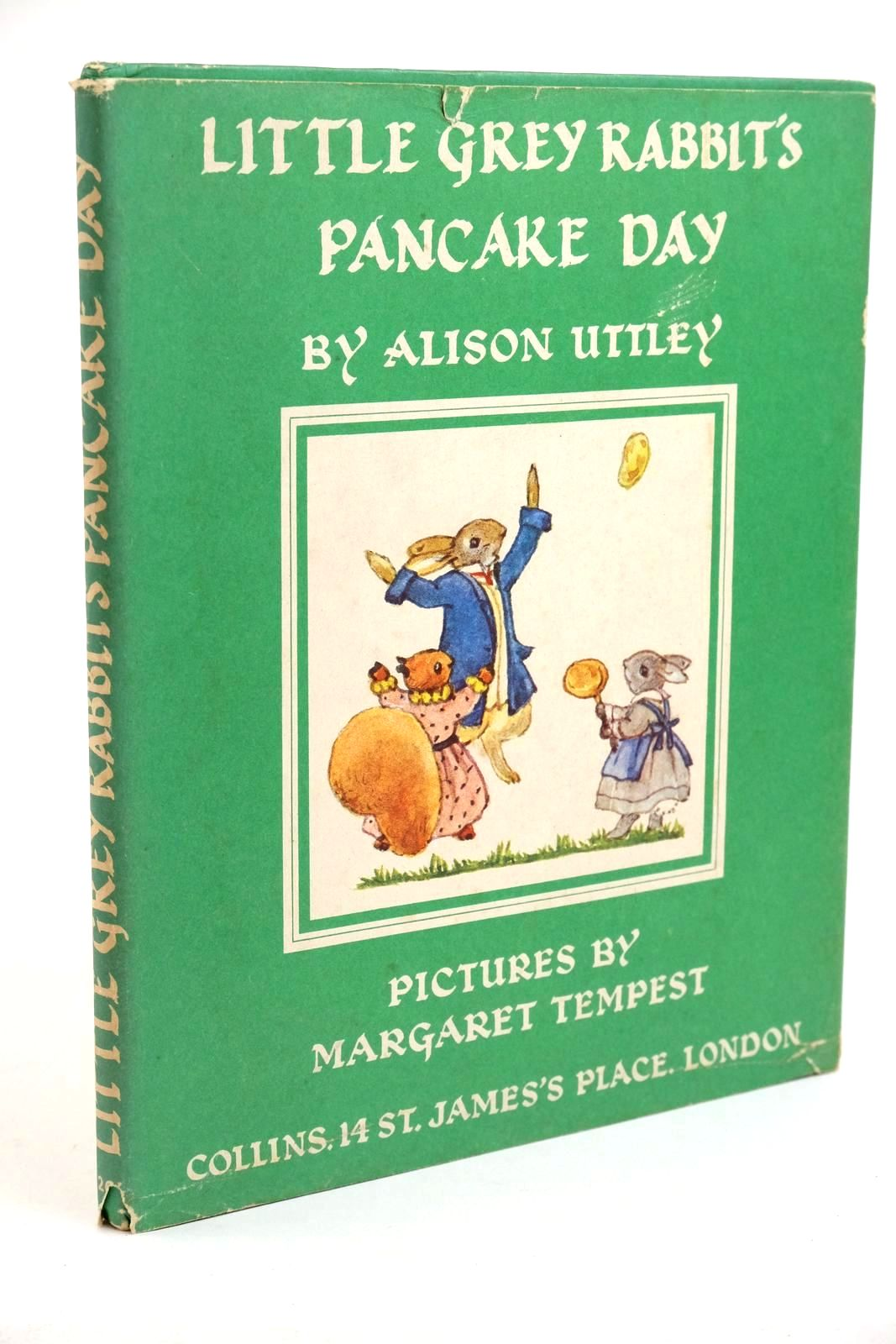 Photo of LITTLE GREY RABBIT'S PANCAKE DAY written by Uttley, Alison illustrated by Tempest, Margaret published by Collins (STOCK CODE: 1321774)  for sale by Stella & Rose's Books