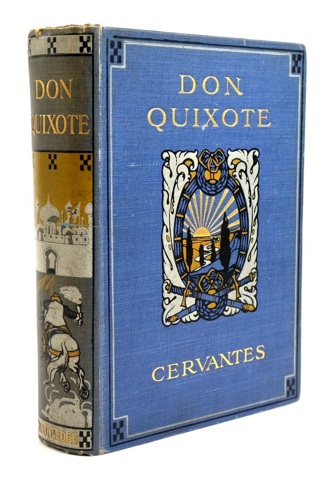 Photo of THE ADVENTURES OF DON QUIXOTE DE LA MANCHA written by De Cervantes, Miguel Jones, M. illustrated by Gilbert, John et al., published by George Routledge and Sons Limited (STOCK CODE: 1321788)  for sale by Stella & Rose's Books