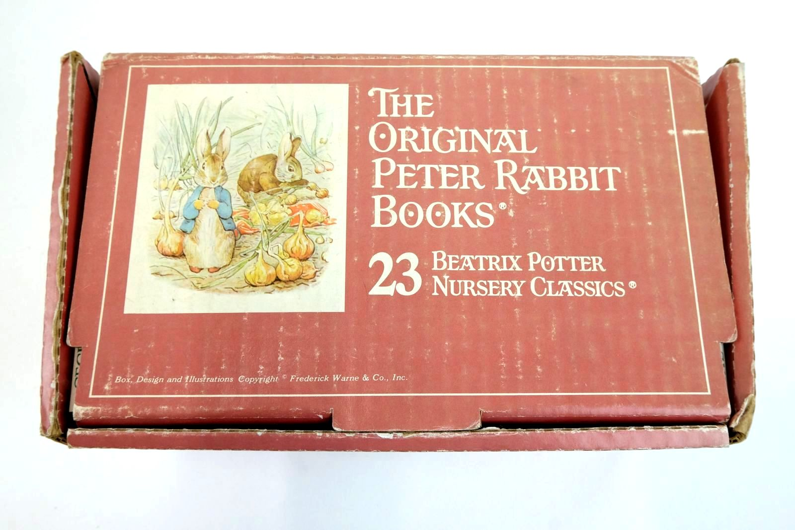 Photo of THE ORIGINAL PETER RABBIT BOOKS 23 BEATRIX POTTER NURSERY CLASSICS written by Potter, Beatrix illustrated by Potter, Beatrix published by Frederick Warne & Co. Inc. (STOCK CODE: 1321795)  for sale by Stella & Rose's Books