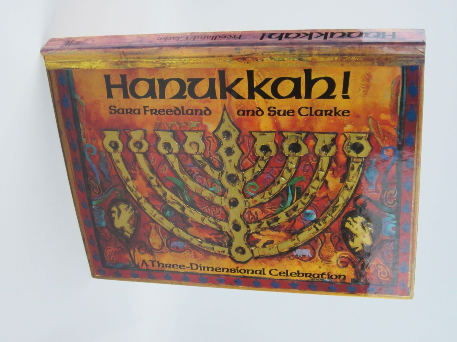 Photo of HANUKKAH! written by Freedland, Sara illustrated by Clarke, Sue published by Robson Books (STOCK CODE: 1401456)  for sale by Stella & Rose's Books