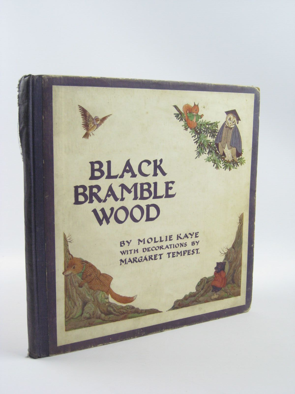 Photo of BLACK BRAMBLE WOOD written by Kaye, Mollie illustrated by Tempest, Margaret published by Collins (STOCK CODE: 1401658)  for sale by Stella & Rose's Books