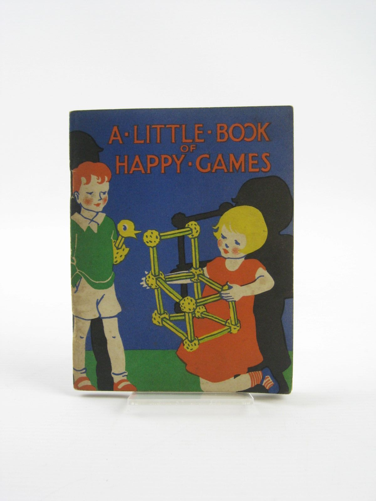 Photo of A LITTLE BOOK OF HAPPY GAMES- Stock Number: 1401682