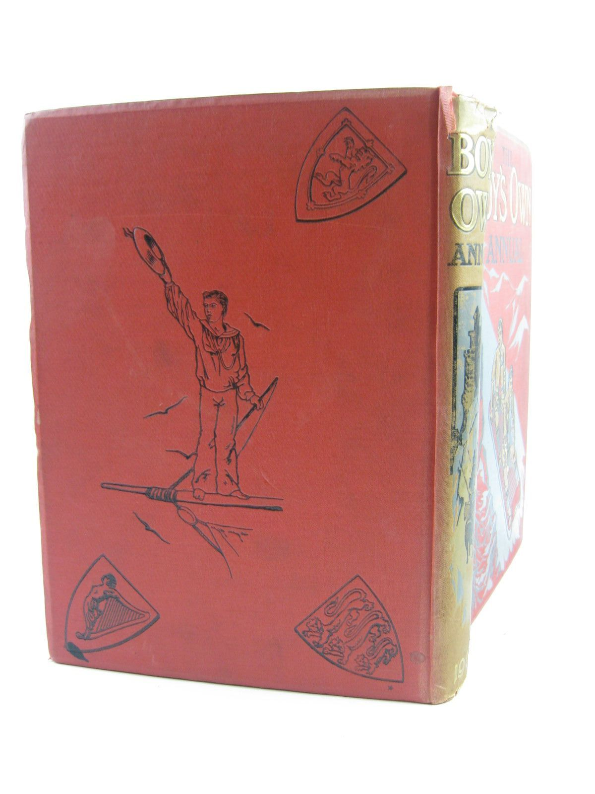 Photo of THE BOY'S OWN ANNUAL 1903 written by Fenn, George Manville et al,  illustrated by Wain, Louis Aldin, Cecil published by The Boy's Own Paper (STOCK CODE: 1401705)  for sale by Stella & Rose's Books
