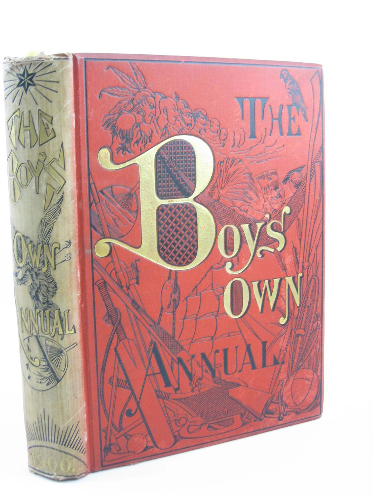 Photo of THE BOY'S OWN ANNUAL VOL 22 written by Ker, David<br />Henty, G.A.<br />Verne, Jules illustrated by Wain, Louis<br />Pearse, Alfred published by The Boy's Own Paper (STOCK CODE: 1401712)  for sale by Stella & Rose's Books