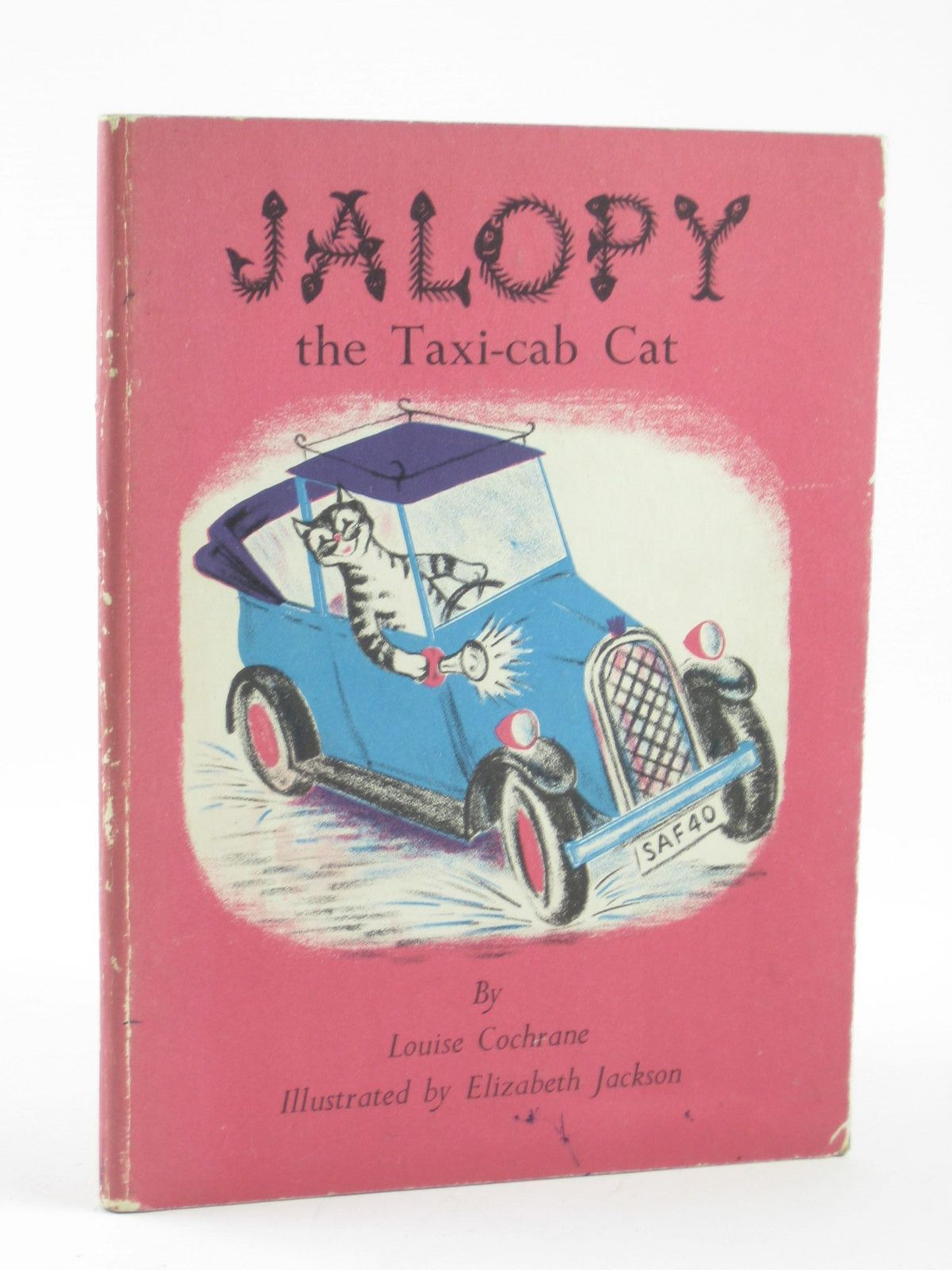 Photo of JALOPY THE TAXI CAB CAT written by Cochrane, Louise illustrated by Jackson, Elizabeth published by Chatto & Windus (STOCK CODE: 1402093)  for sale by Stella & Rose's Books