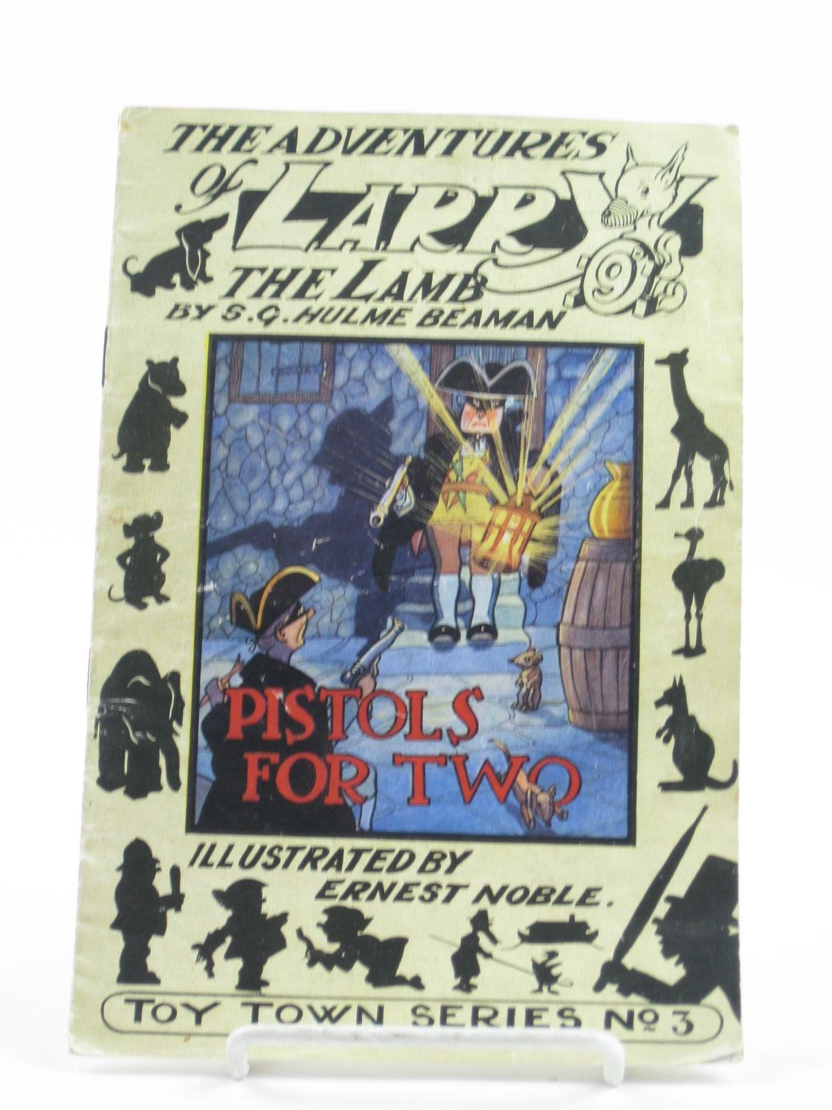 Photo of THE ADVENTURES OF LARRY THE LAMB - PISTOLS FOR TWO- Stock Number: 1402094