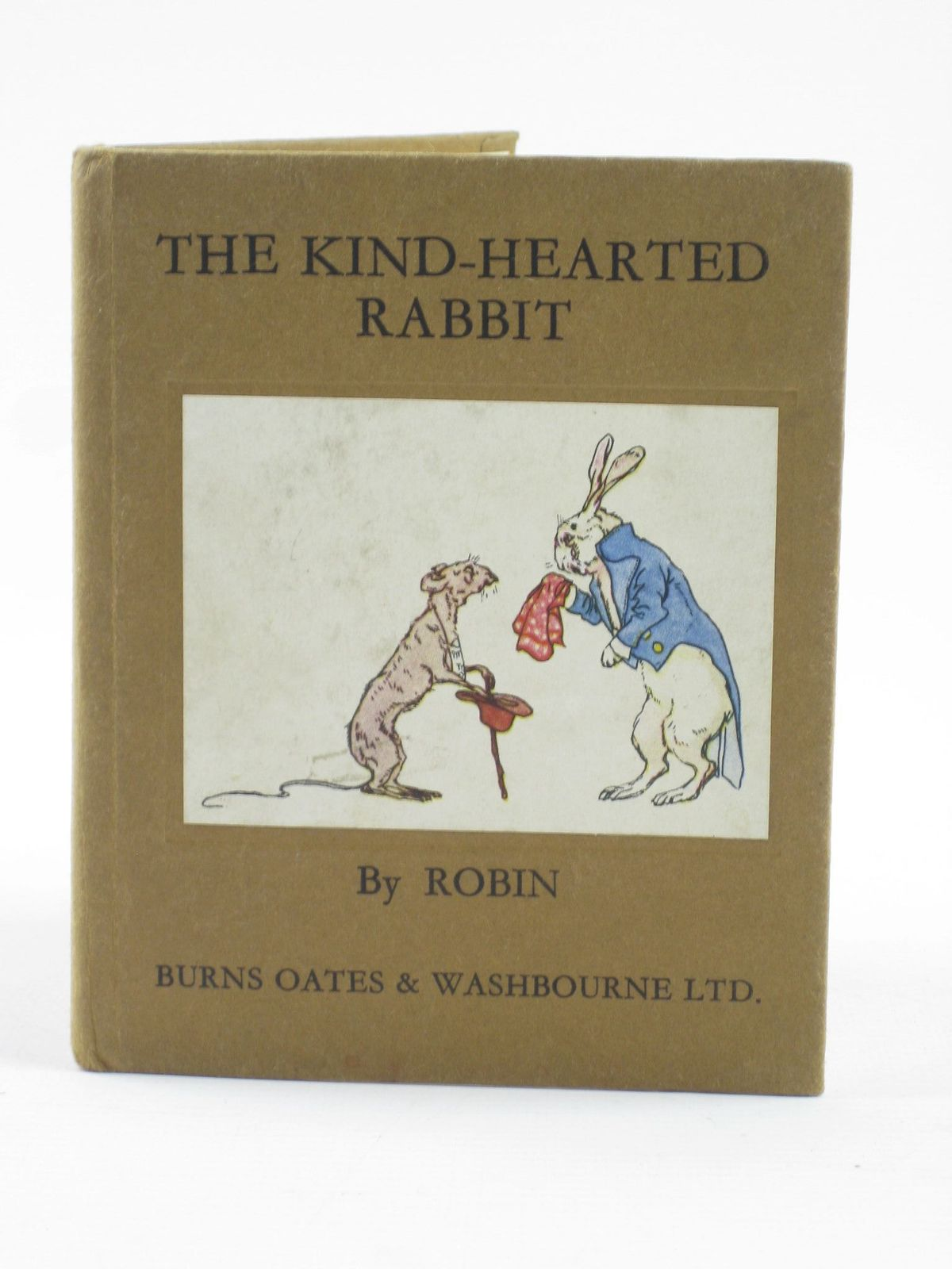 Photo of THE KIND-HEARTED RABBIT illustrated by Robin, published by Burns Oates And Washbourne Ltd. (STOCK CODE: 1402096)  for sale by Stella & Rose's Books