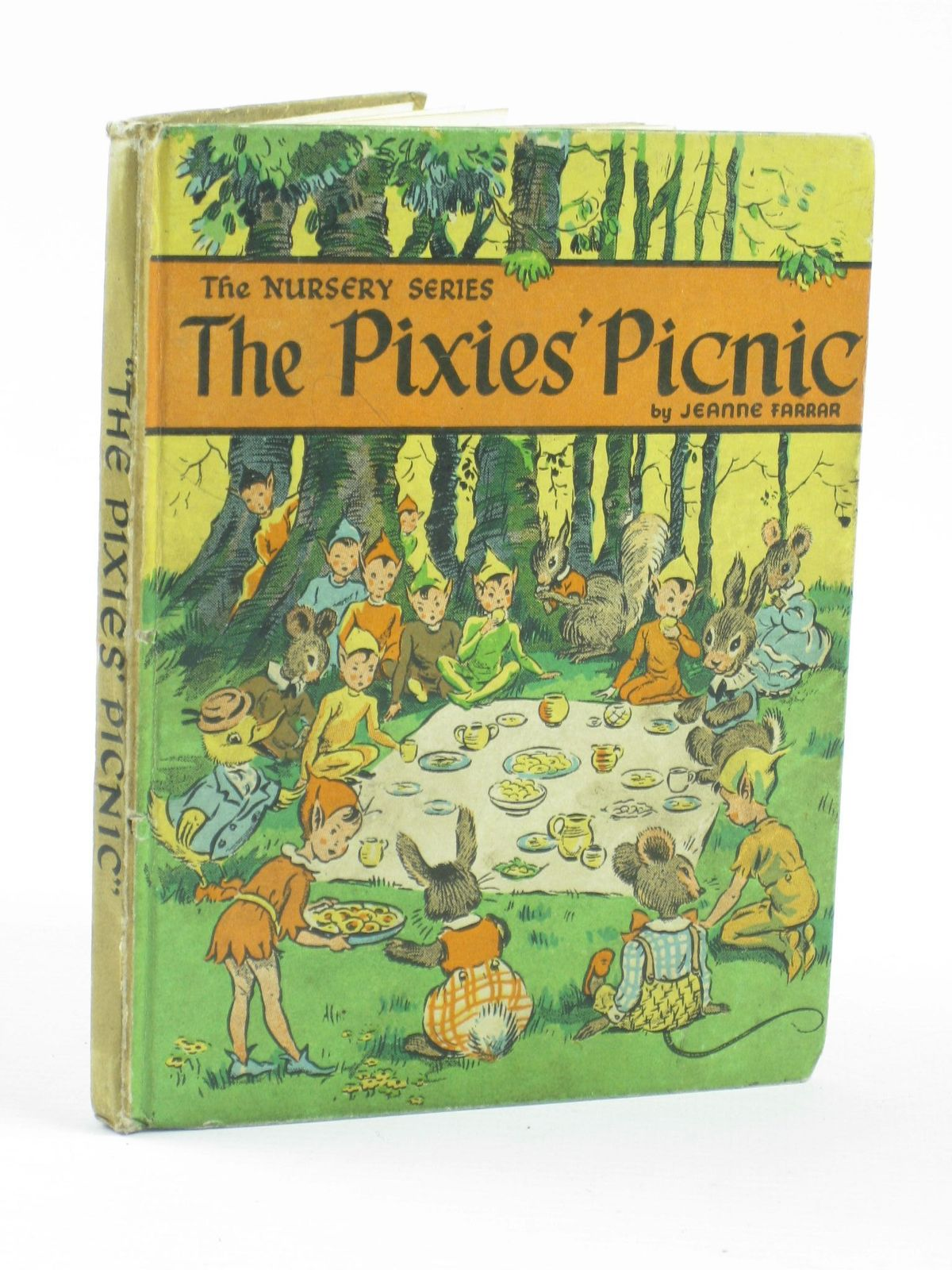 Photo of THE PIXIES' PICNIC written by Farrar, Jeanne illustrated by Farrar, Jeanne published by The Brockhampton Press Ltd. (STOCK CODE: 1402101)  for sale by Stella & Rose's Books