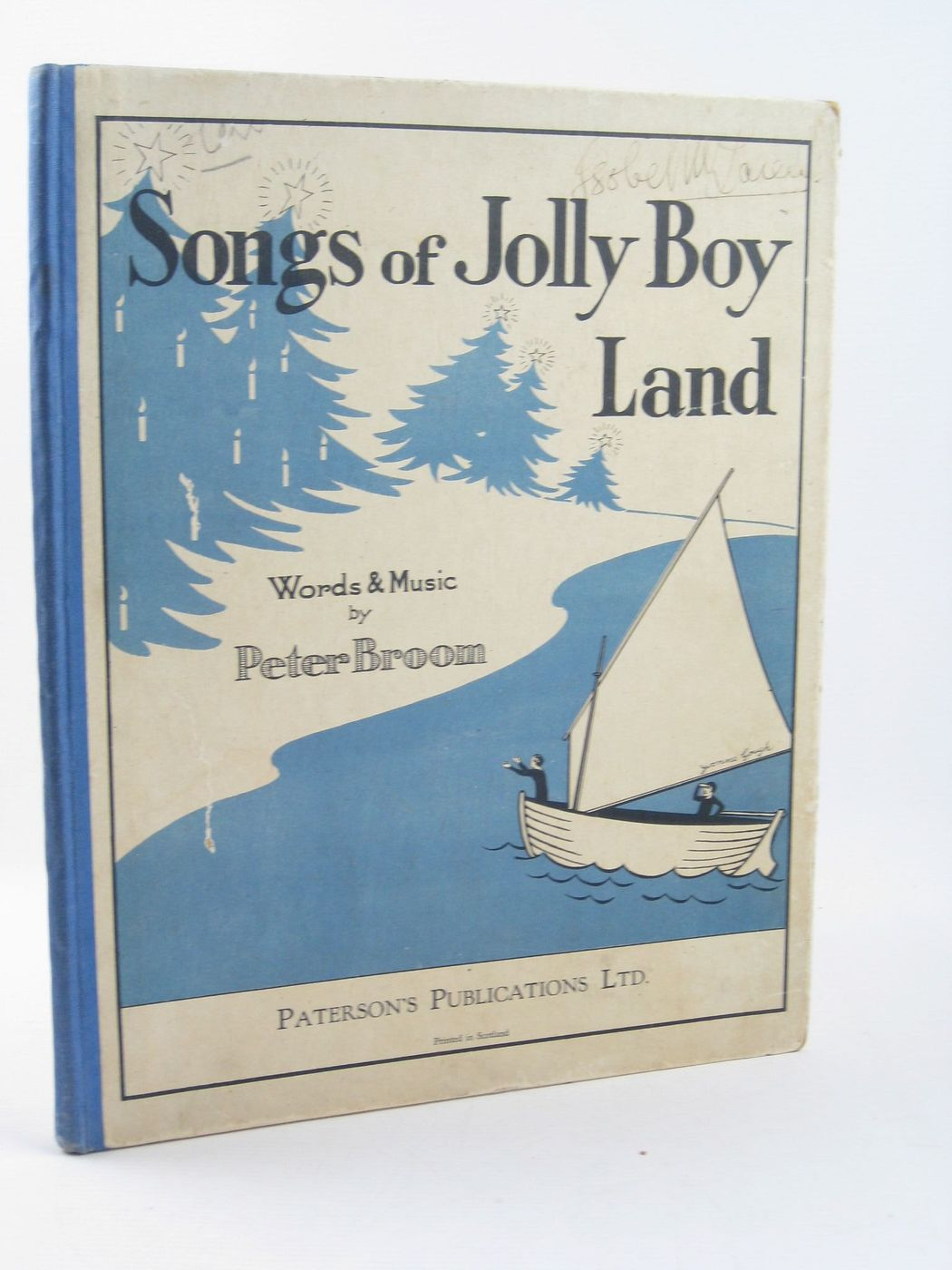 Photo of SONGS OF JOLLY BOY LAND written by Broom, Peter illustrated by Gough, Yvonne published by Paterson's Publications (STOCK CODE: 1402175)  for sale by Stella & Rose's Books
