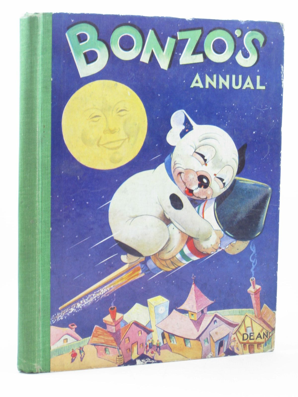Photo of BONZO'S ANNUAL 1952 written by Studdy, G.E. illustrated by Studdy, G.E. published by Dean & Son Ltd. (STOCK CODE: 1402349)  for sale by Stella & Rose's Books