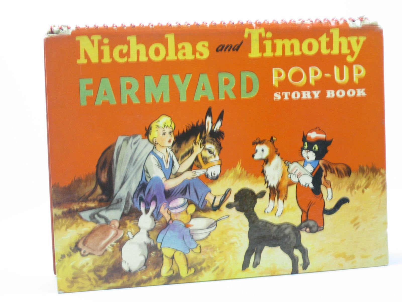 Photo of NICHOLAS AND TIMOTHY FARMYARD POP-UP STORY BOOK written by Styles, Kitty published by Sampson Low (STOCK CODE: 1402354)  for sale by Stella & Rose's Books