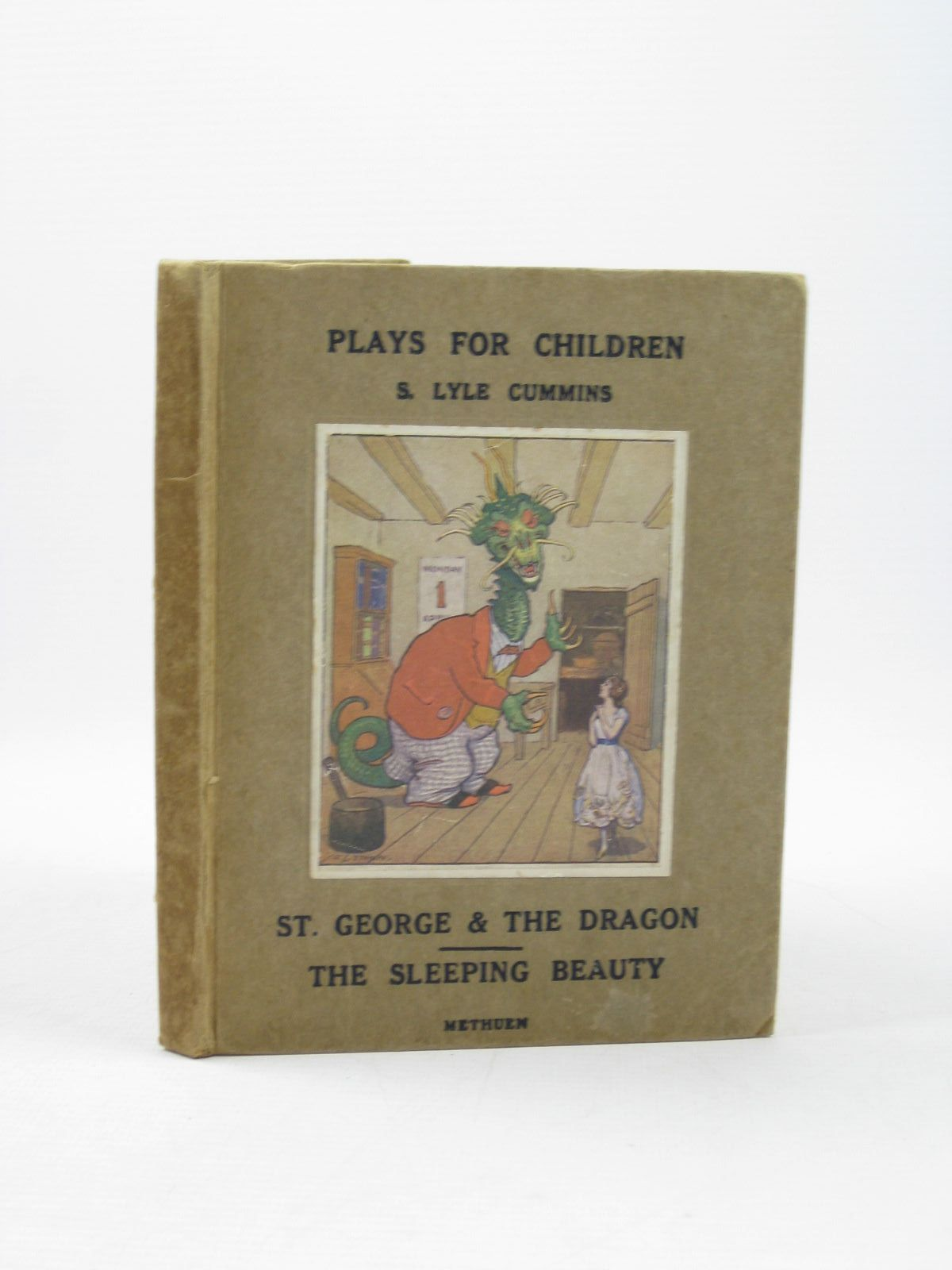 Photo of ST. GEORGE AND THE DRAGON & THE SLEEPING BEAUTY written by Cummins, S. Lyle illustrated by Stampa, G.L. published by Methuen & Co. Ltd. (STOCK CODE: 1402363)  for sale by Stella & Rose's Books