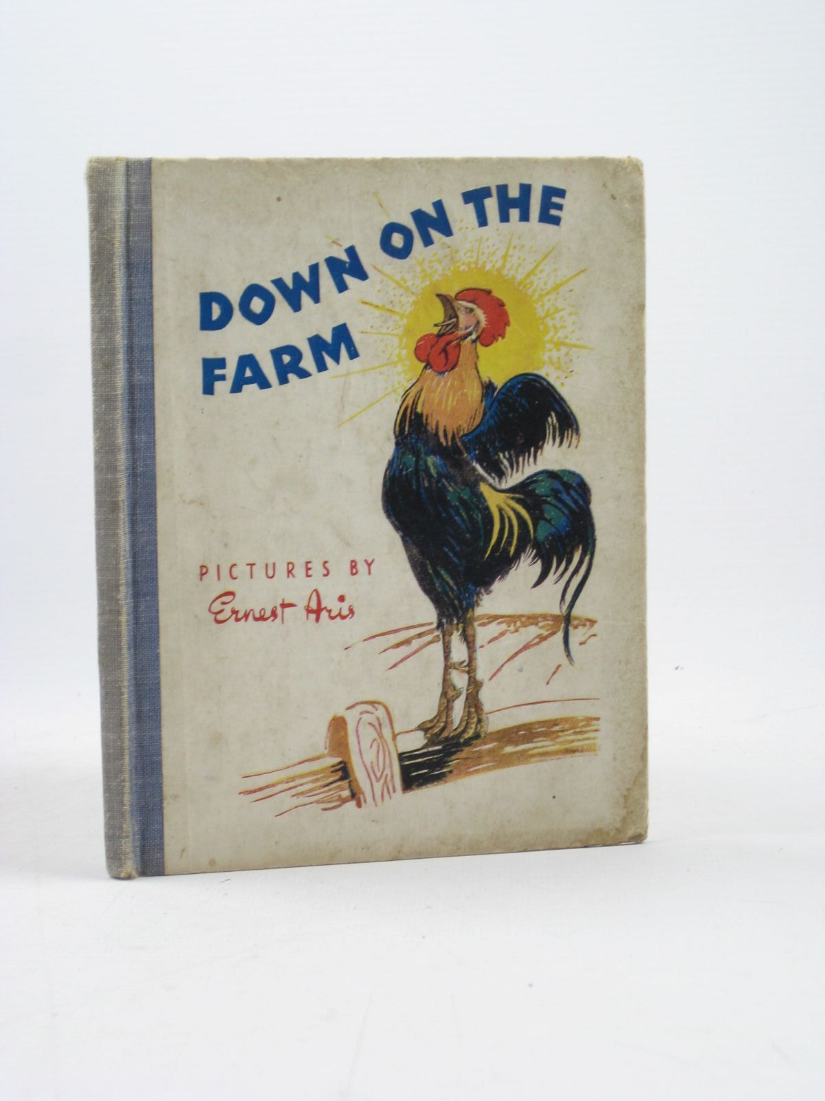 Photo of DOWN ON THE FARM written by Polkinghorne, R.K.<br />Polkinghorne, M.I.R. illustrated by Aris, Ernest A. published by George Newnes Limited (STOCK CODE: 1402522)  for sale by Stella & Rose's Books