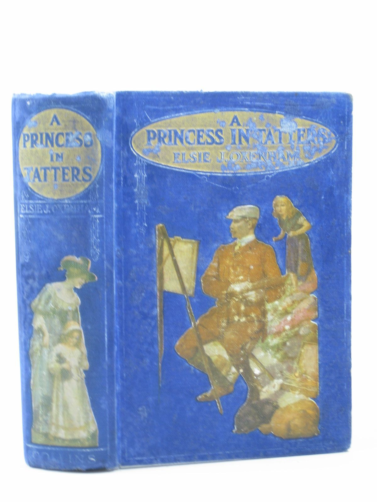 Photo of A PRINCESS IN TATTERS written by Oxenham, Elsie J. illustrated by Adams, Frank published by Collins Clear-Type Press (STOCK CODE: 1402630)  for sale by Stella & Rose's Books