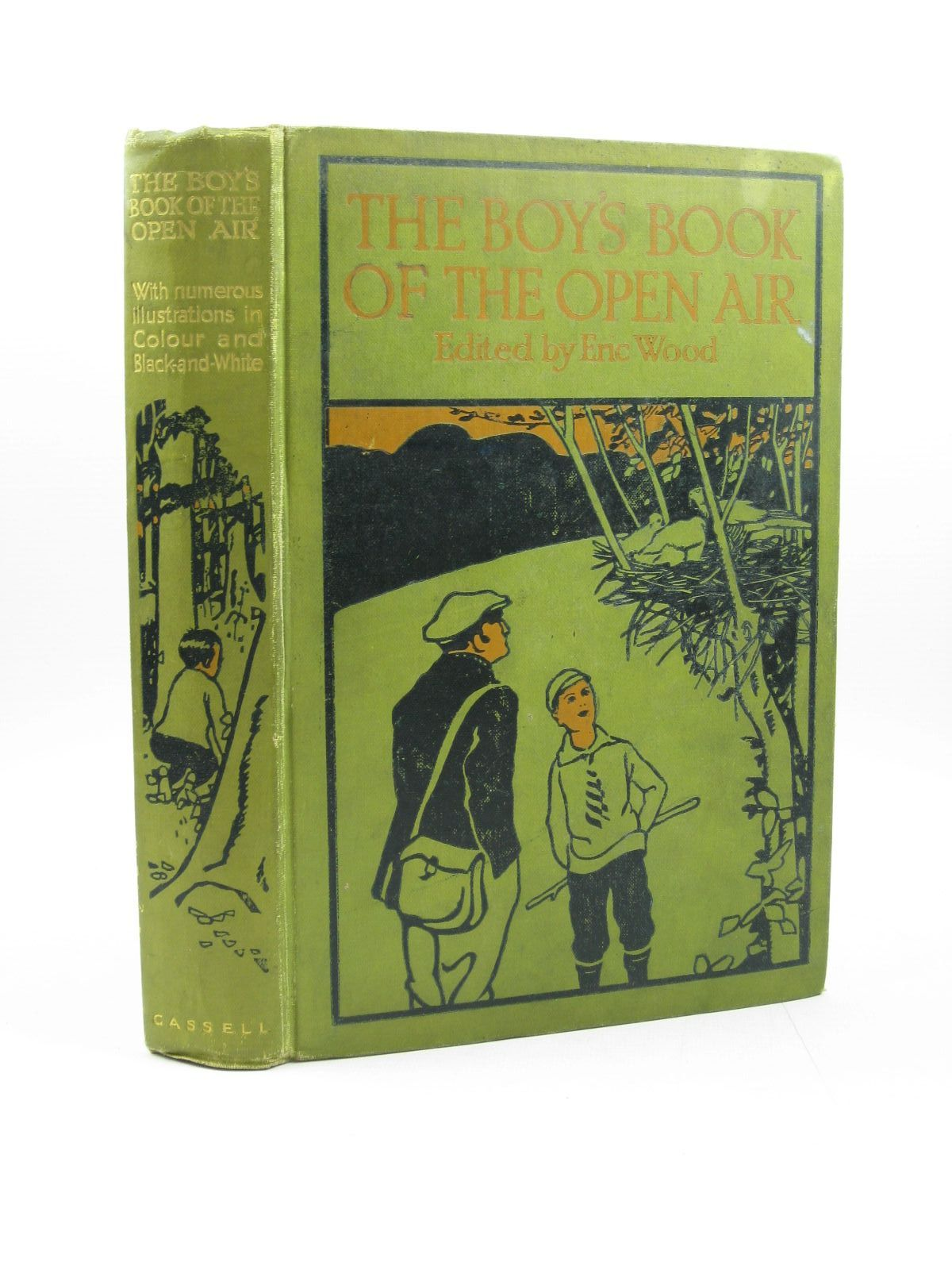 Photo of THE BOY'S BOOK OF THE OPEN AIR written by Wood, Eric<br />Batten, H. Mortimer<br />Bridges, T.C.<br />et al, published by Cassell &amp; Company Ltd (STOCK CODE: 1402863)  for sale by Stella & Rose's Books
