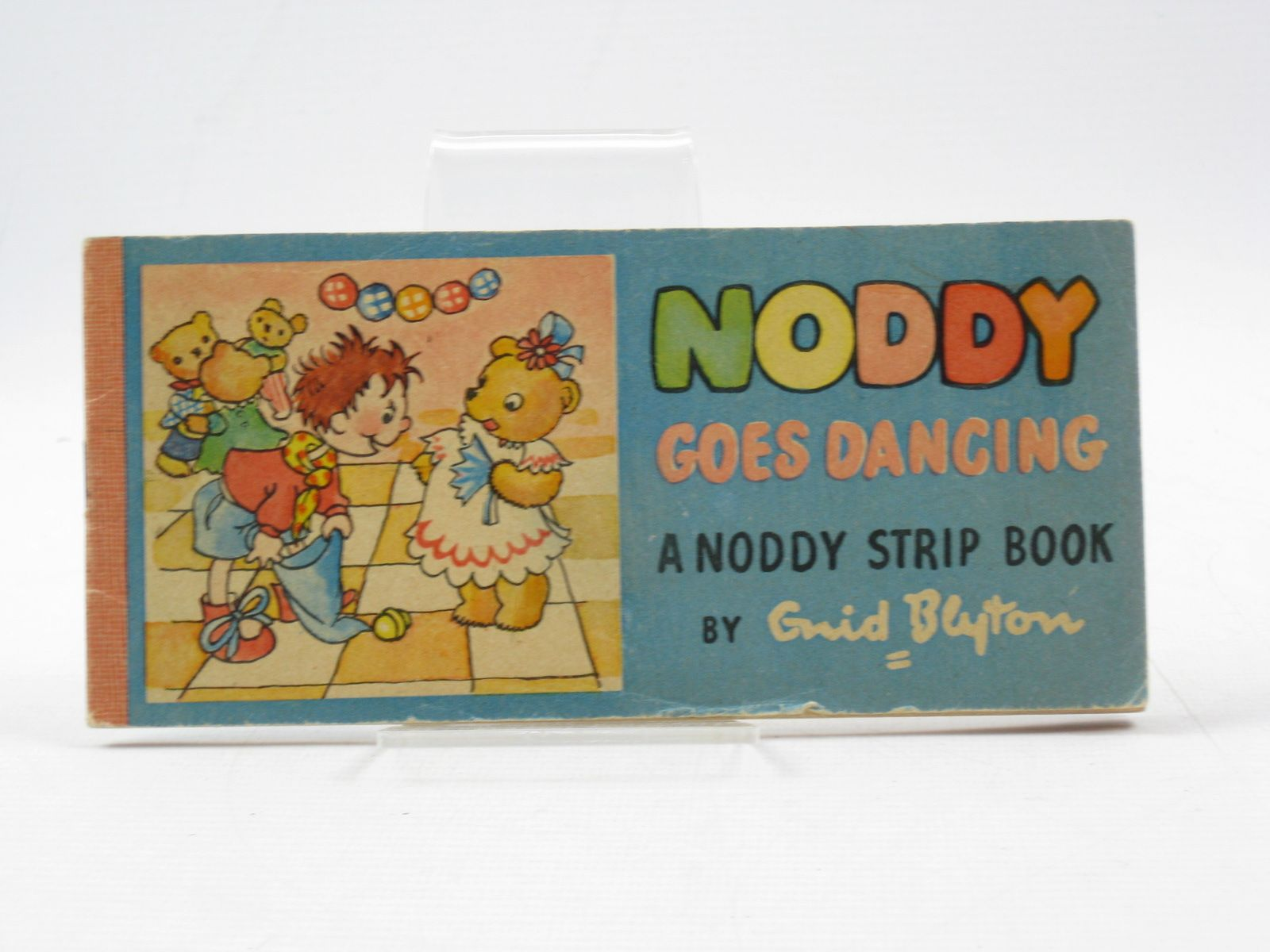 Photo of NODDY GOES DANCING written by Blyton, Enid illustrated by Beek,  published by Sampson Low, Marston & Co. Ltd. (STOCK CODE: 1403069)  for sale by Stella & Rose's Books