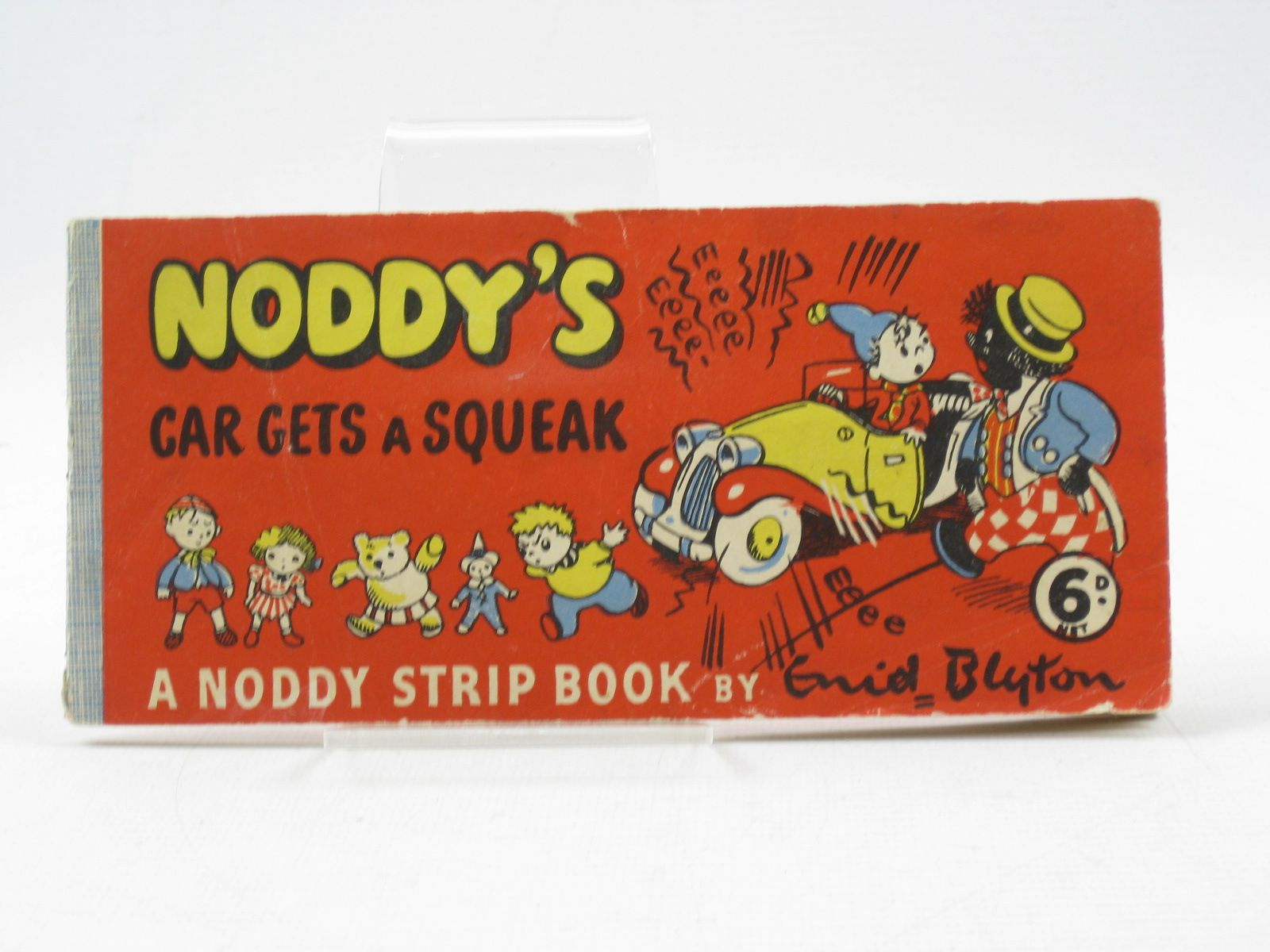 Photo of NODDY'S CAR GETS A SQUEAK written by Blyton, Enid published by Sampson Low (STOCK CODE: 1403070)  for sale by Stella & Rose's Books