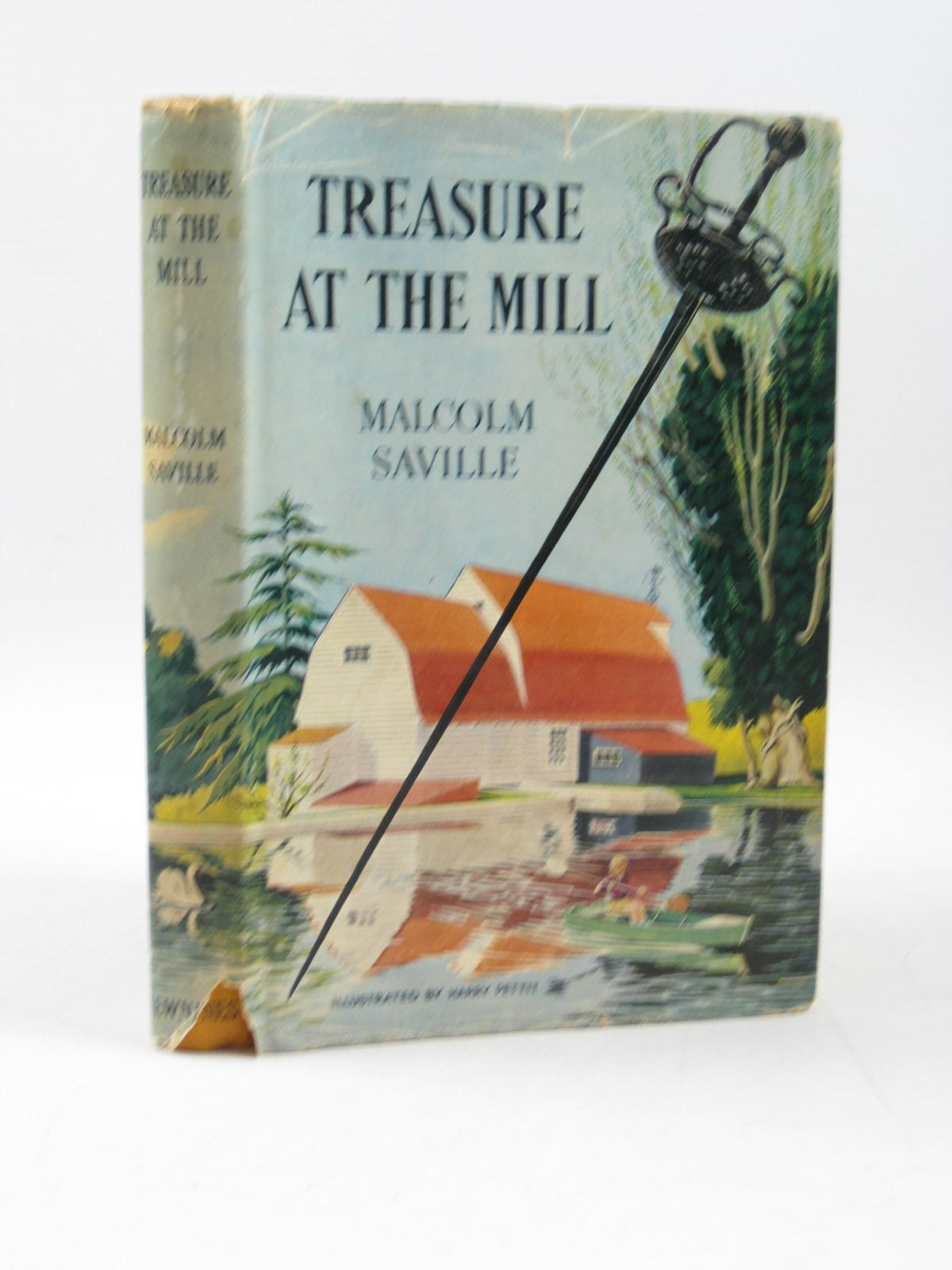 Photo of TREASURE AT THE MILL written by Saville, Malcolm illustrated by Pettit, Harry published by George Newnes (STOCK CODE: 1403343)  for sale by Stella & Rose's Books