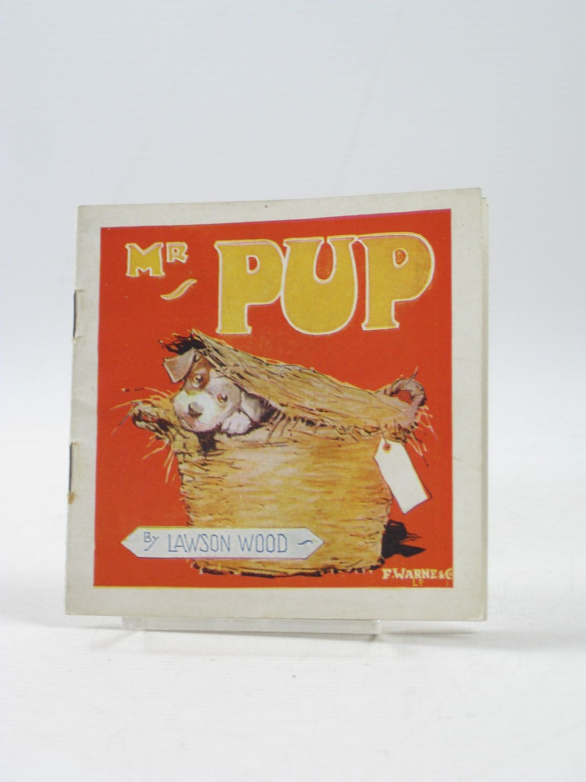 Photo of MR PUP AND HIS ESCAPADE written by Wood, Lawson illustrated by Wood, Lawson published by Frederick Warne & Co Ltd. (STOCK CODE: 1403363)  for sale by Stella & Rose's Books