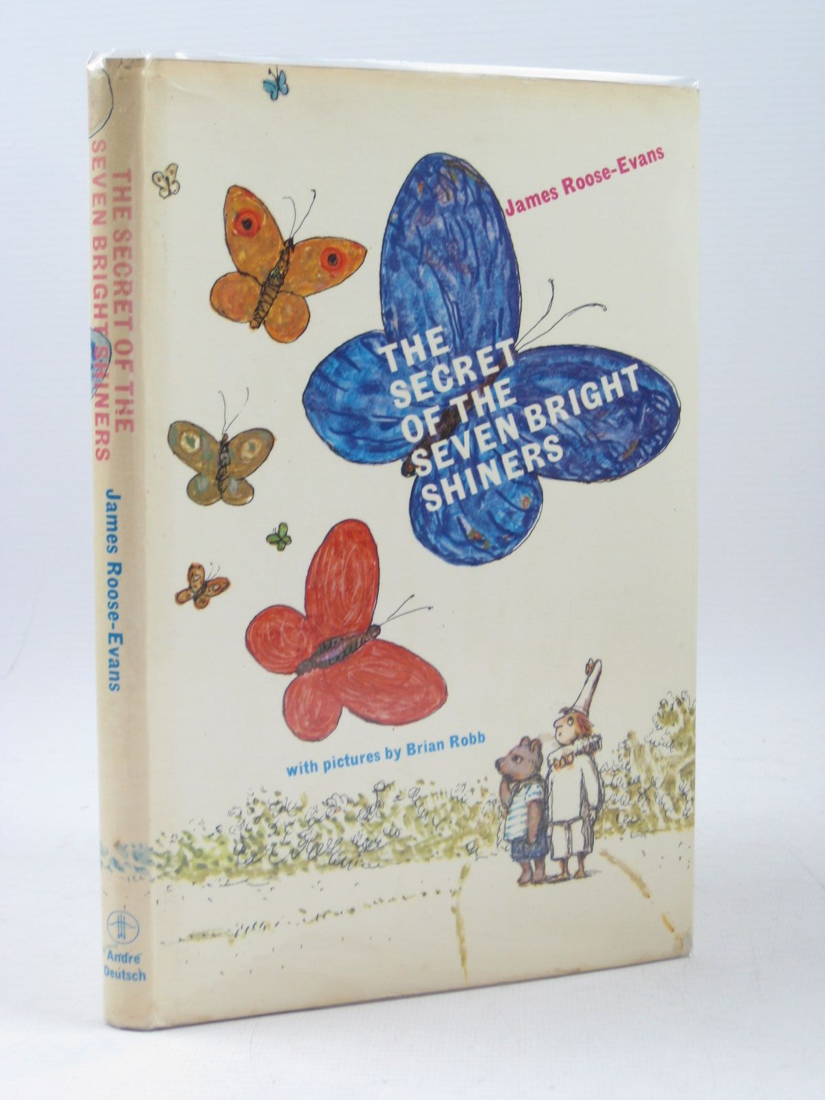 Photo of THE SECRET OF THE SEVEN BRIGHT SHINERS written by Roose-Evans, James illustrated by Robb, Brian published by Andre Deutsch (STOCK CODE: 1403458)  for sale by Stella & Rose's Books