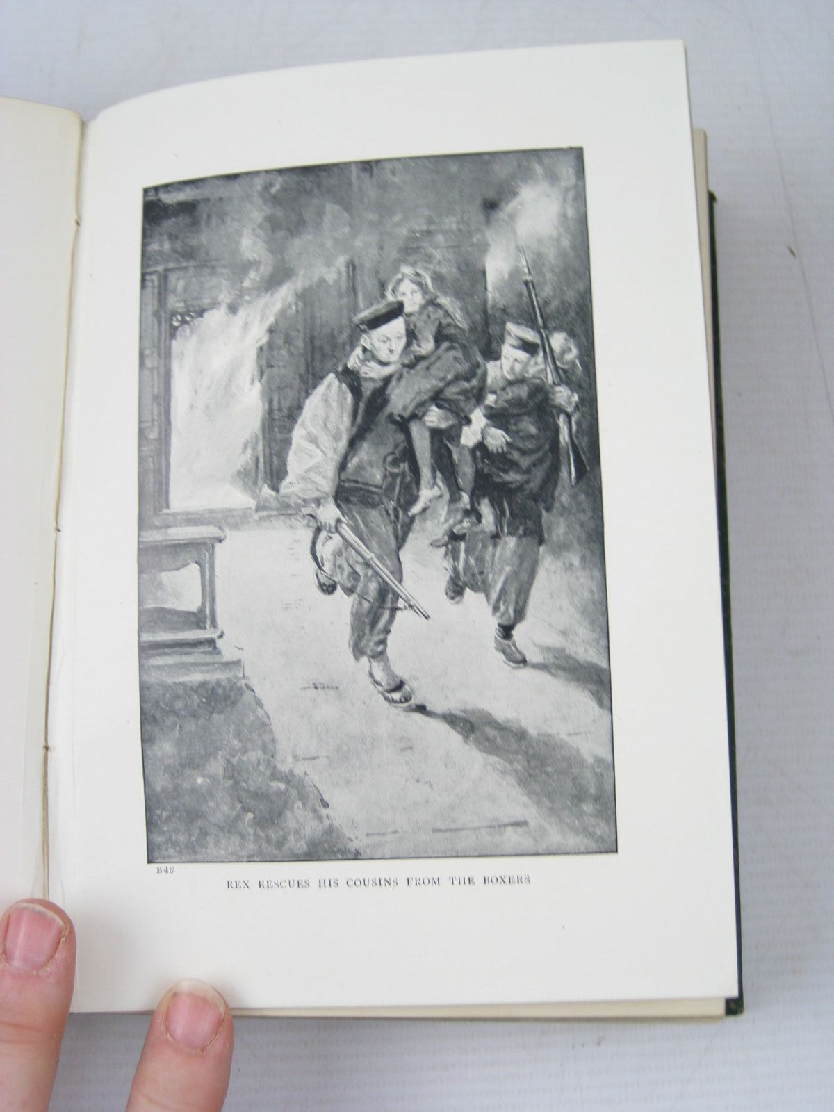 Photo of WITH THE ALLIES TO PEKIN written by Henty, G.A. illustrated by Paget, Wal published by Blackie & Son Ltd. (STOCK CODE: 1403474)  for sale by Stella & Rose's Books