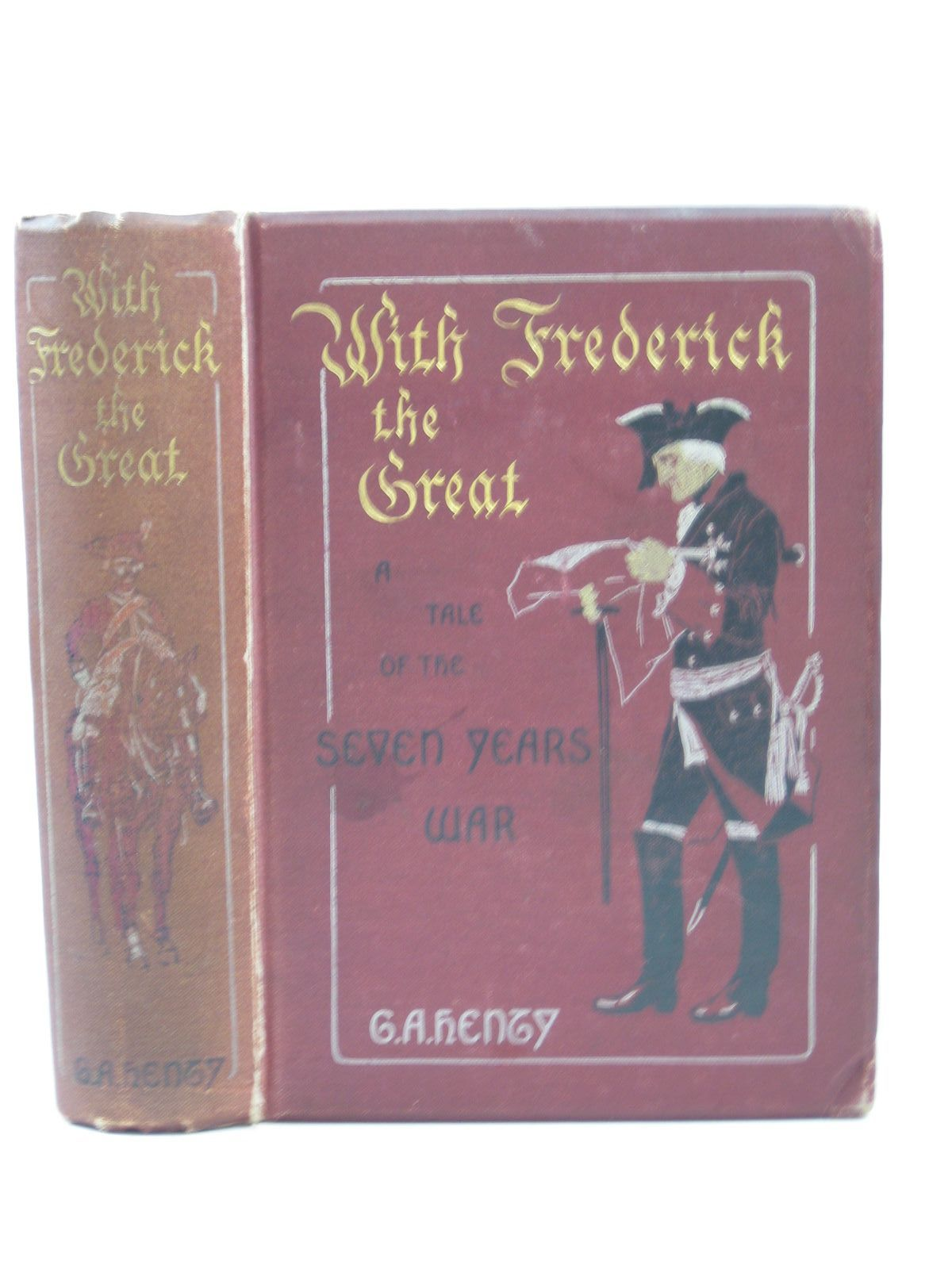 Photo of WITH FREDERICK THE GREAT written by Henty, G.A. illustrated by Paget, Wal published by Blackie & Son Ltd. (STOCK CODE: 1403481)  for sale by Stella & Rose's Books