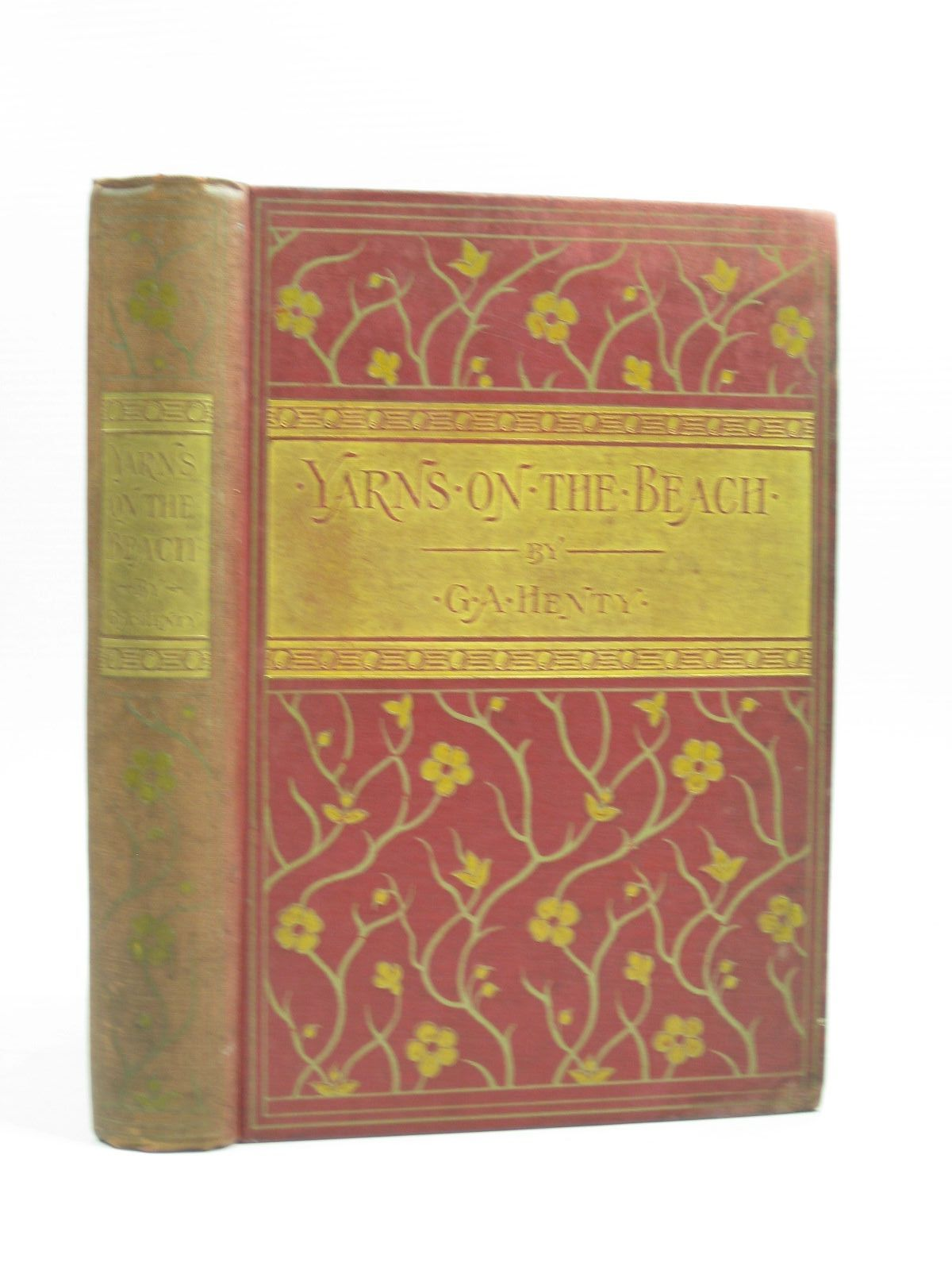 Photo of YARNS ON THE BEACH written by Henty, G.A. illustrated by Proctor, J.J. published by Blackie & Son Ltd. (STOCK CODE: 1403606)  for sale by Stella & Rose's Books