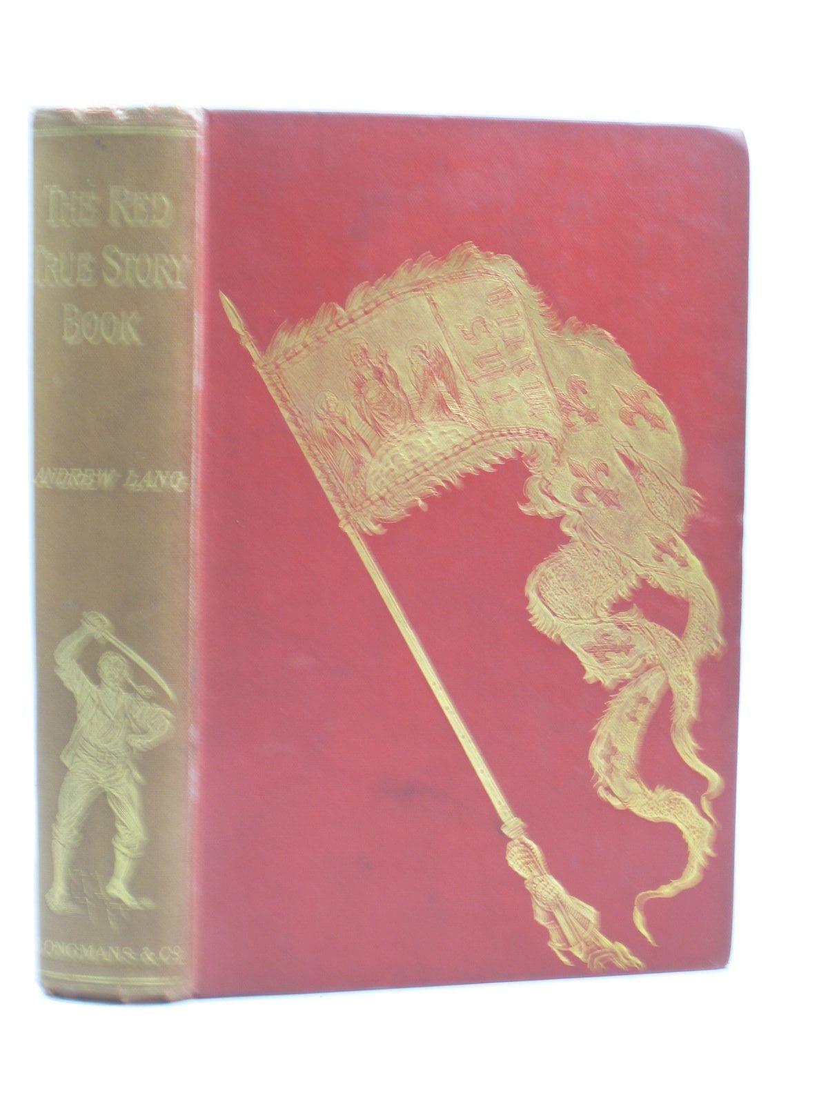 Photo of THE RED TRUE STORY BOOK written by Lang, Andrew illustrated by Ford, H.J. published by Longmans, Green & Co. (STOCK CODE: 1403653)  for sale by Stella & Rose's Books