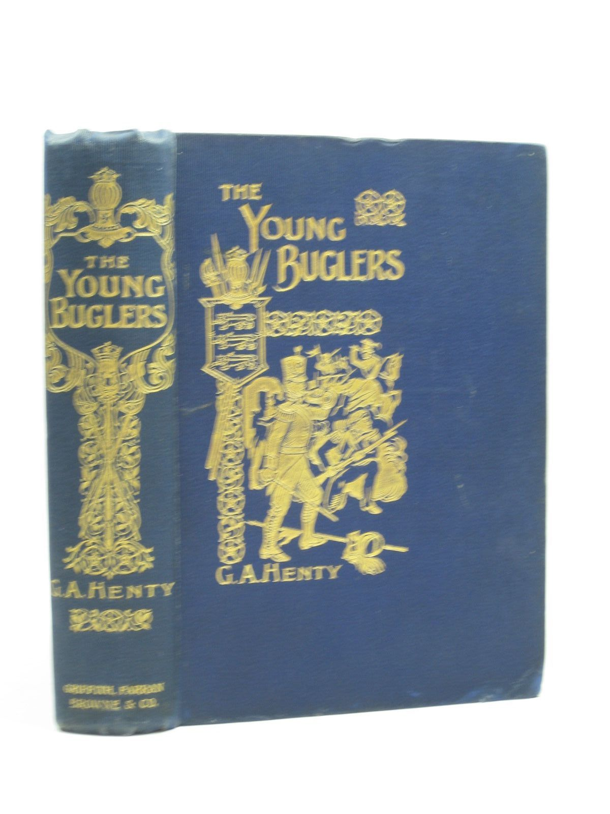 Photo of THE YOUNG BUGLERS written by Henty, G.A. illustrated by Schonberg, John published by Griffith Farran Browne & Co Limited. (STOCK CODE: 1403685)  for sale by Stella & Rose's Books
