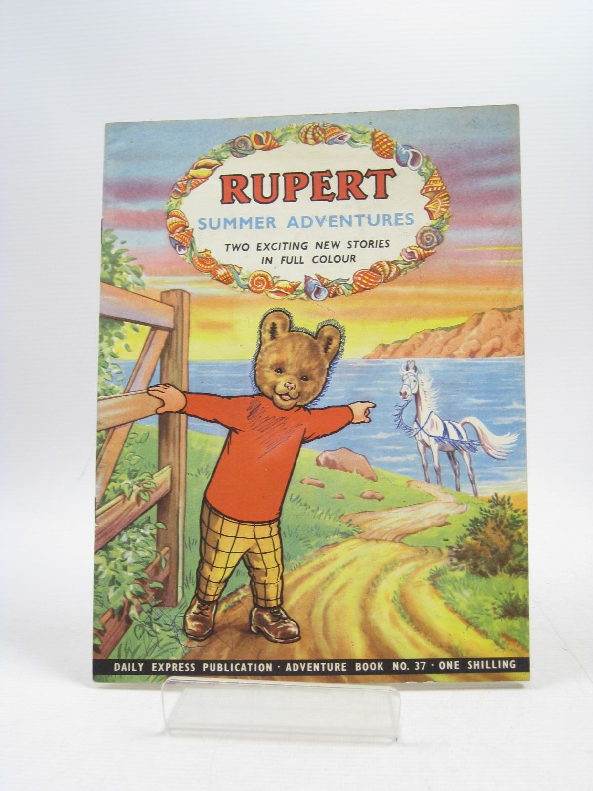 Photo of RUPERT ADVENTURE BOOK No. 37 - SUMMER ADVENTURES written by Bestall, Alfred published by Daily Express (STOCK CODE: 1403903)  for sale by Stella & Rose's Books