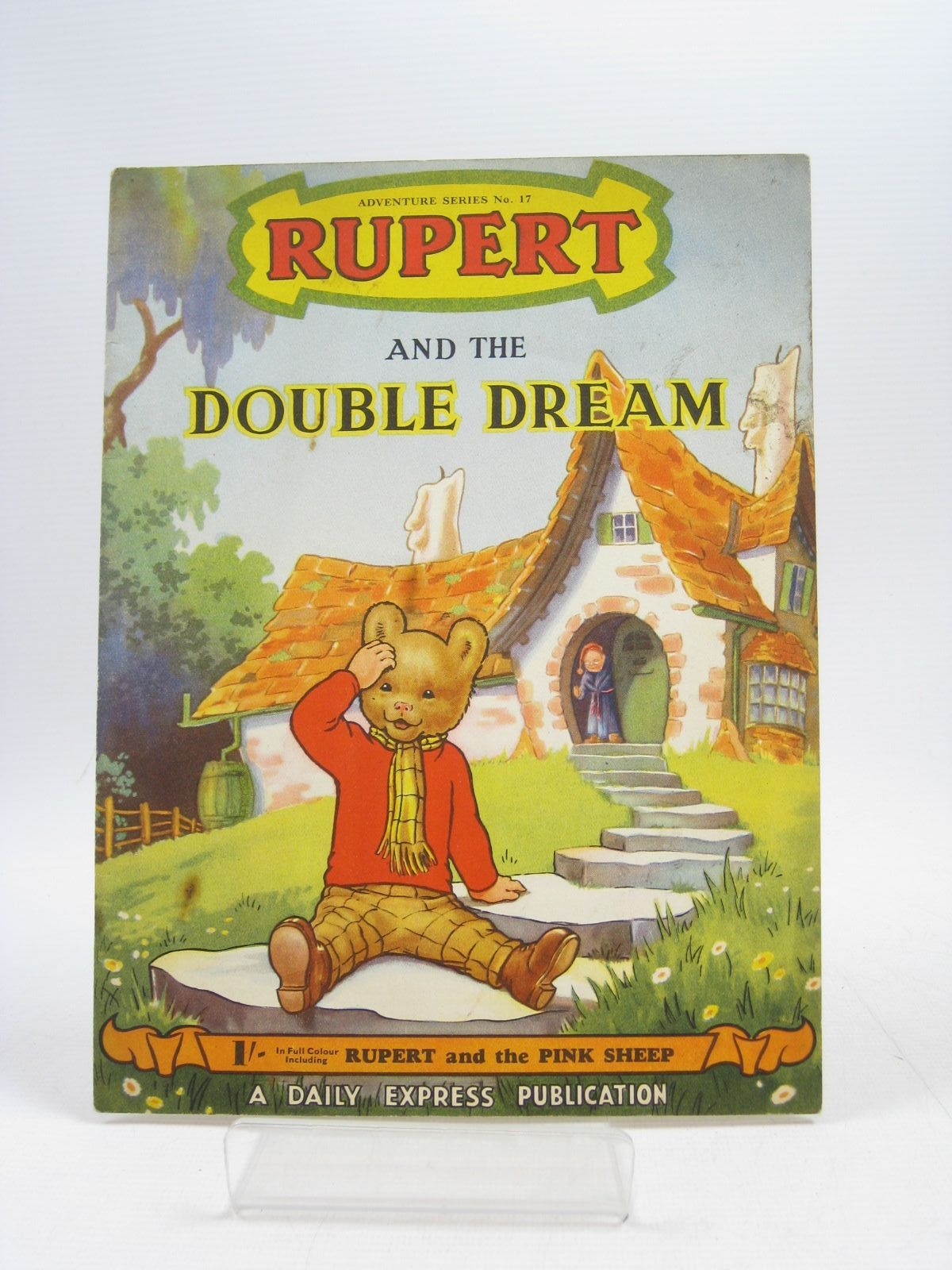 Photo of RUPERT ADVENTURE SERIES No. 17 - RUPERT AND THE DOUBLE DREAM- Stock Number: 1403906