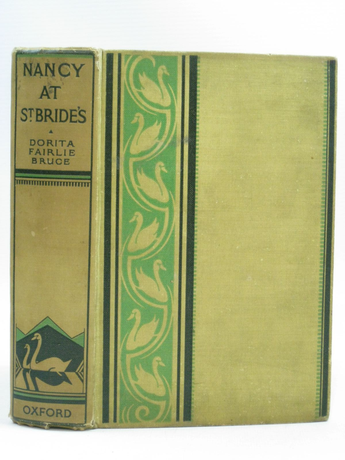 Photo of NANCY AT ST. BRIDE'S written by Bruce, Dorita Fairlie illustrated by Johnston, M.D. published by Oxford University Press, Humphrey Milford (STOCK CODE: 1404138)  for sale by Stella & Rose's Books
