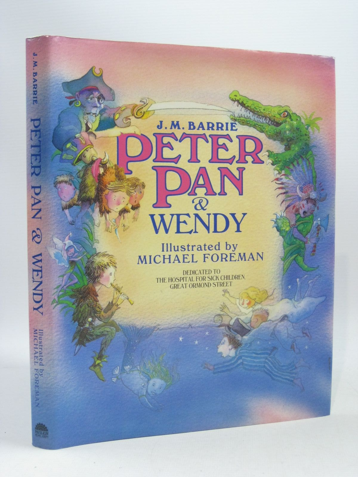 Photo of PETER PAN & WENDY written by Barrie, J.M. illustrated by Foreman, Michael published by Pavilion Books (STOCK CODE: 1404153)  for sale by Stella & Rose's Books